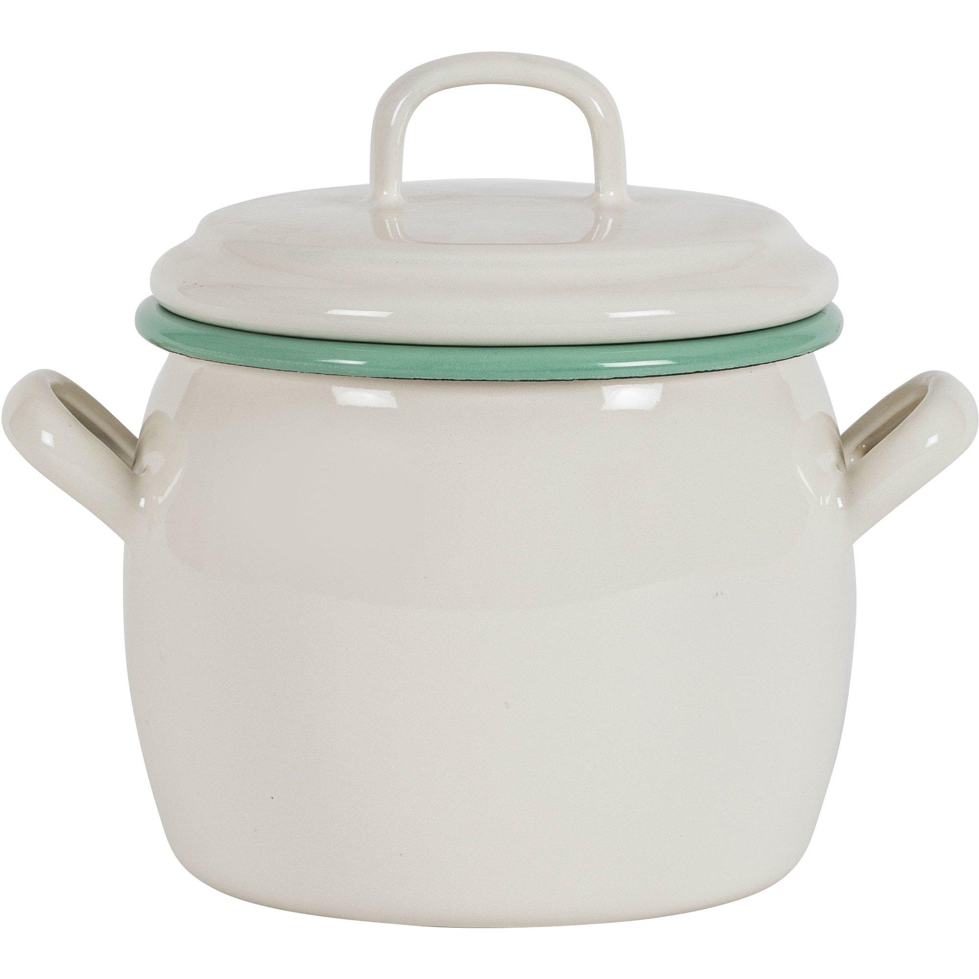 Kockums Jernverk Gryta 0,7 liter, creme