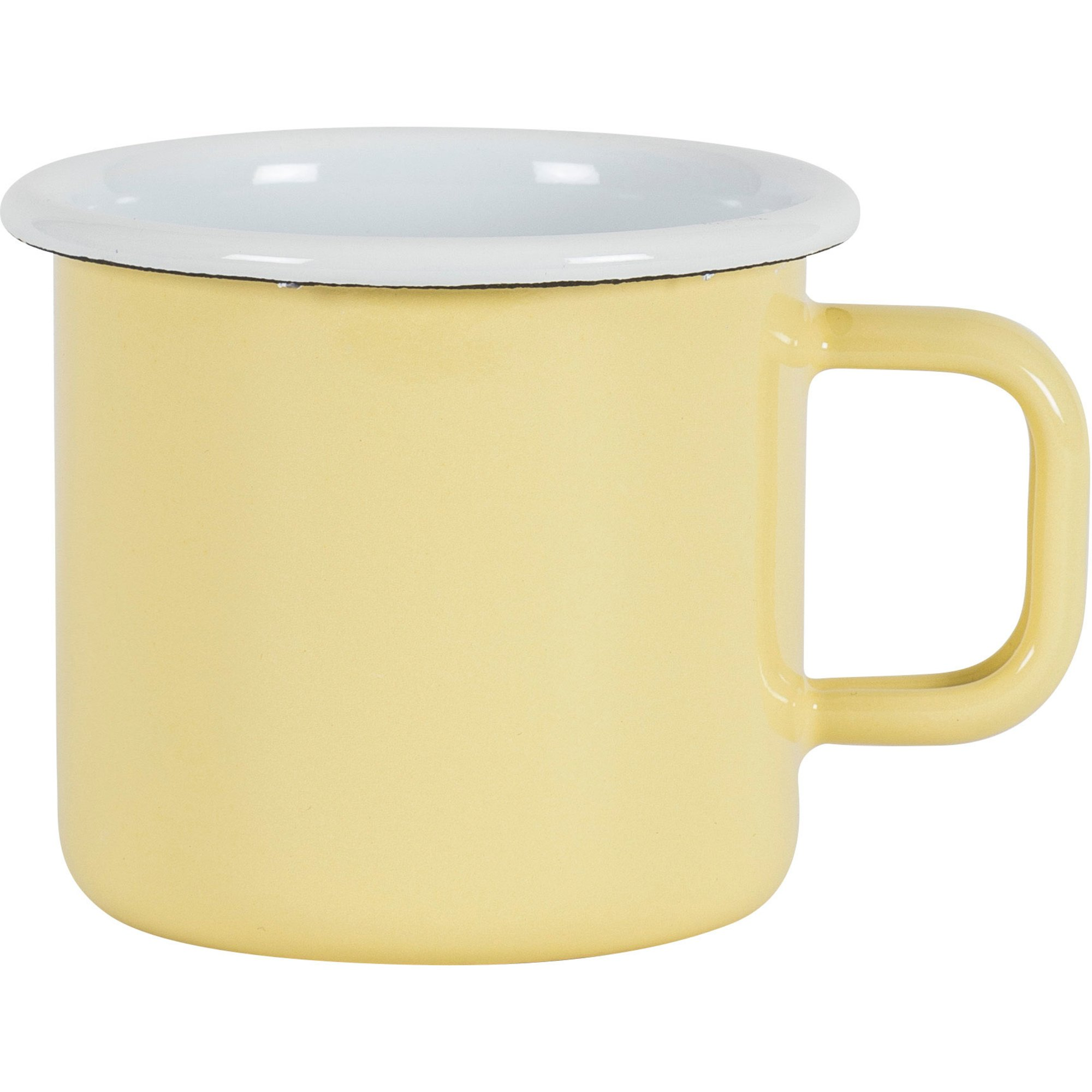 Kockums Jernverk Mugg, gul