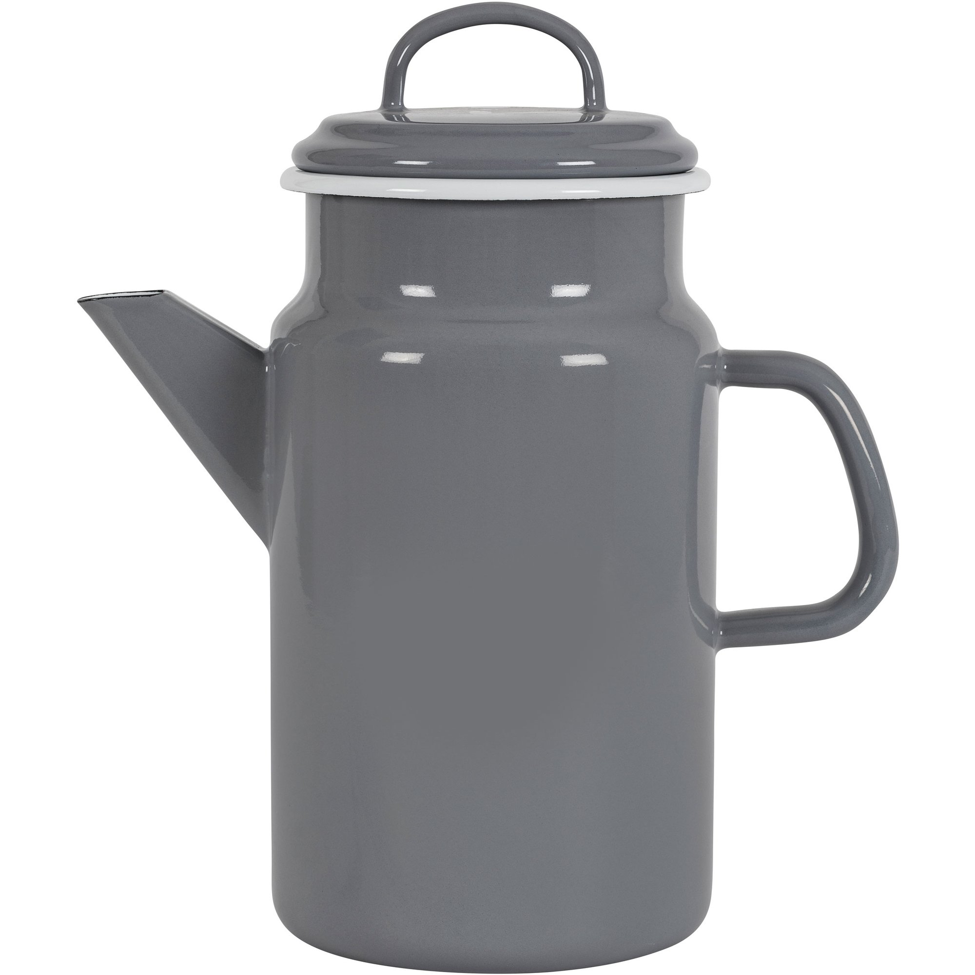 Kockums Jernverk Tekanna 2 liter grå