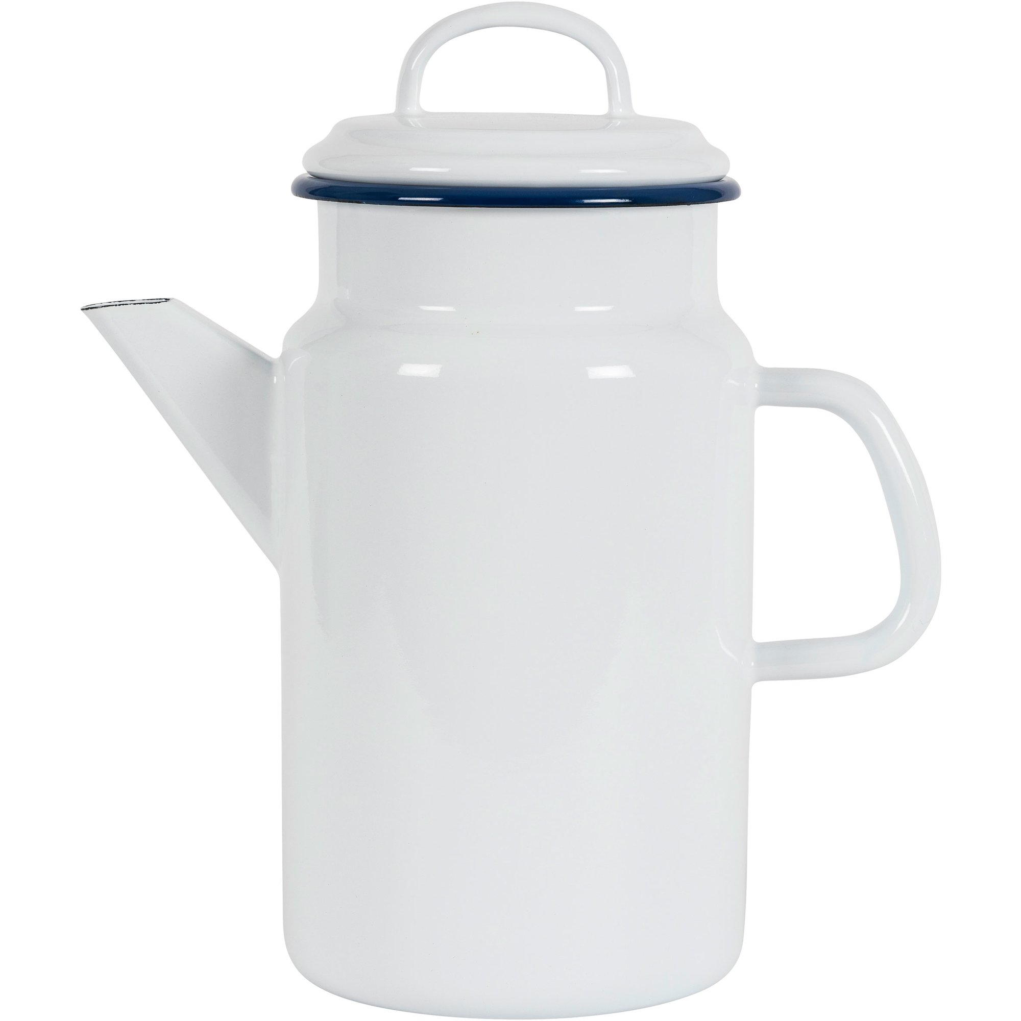 Kockums Jernverk Tekanna 2 liter vit