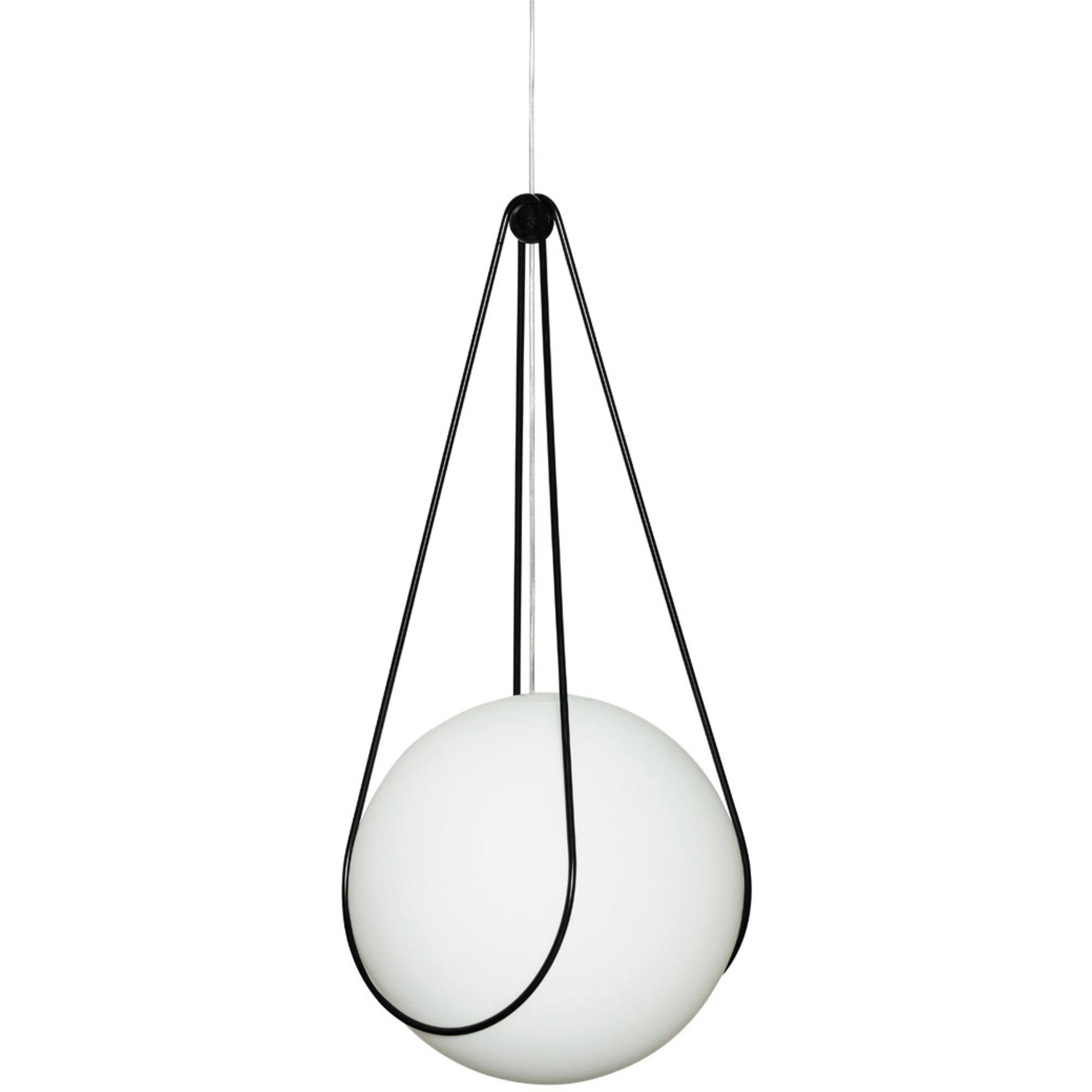 Design House Stockholm Kosmos hållare för Luna Lampa Svart 40cm