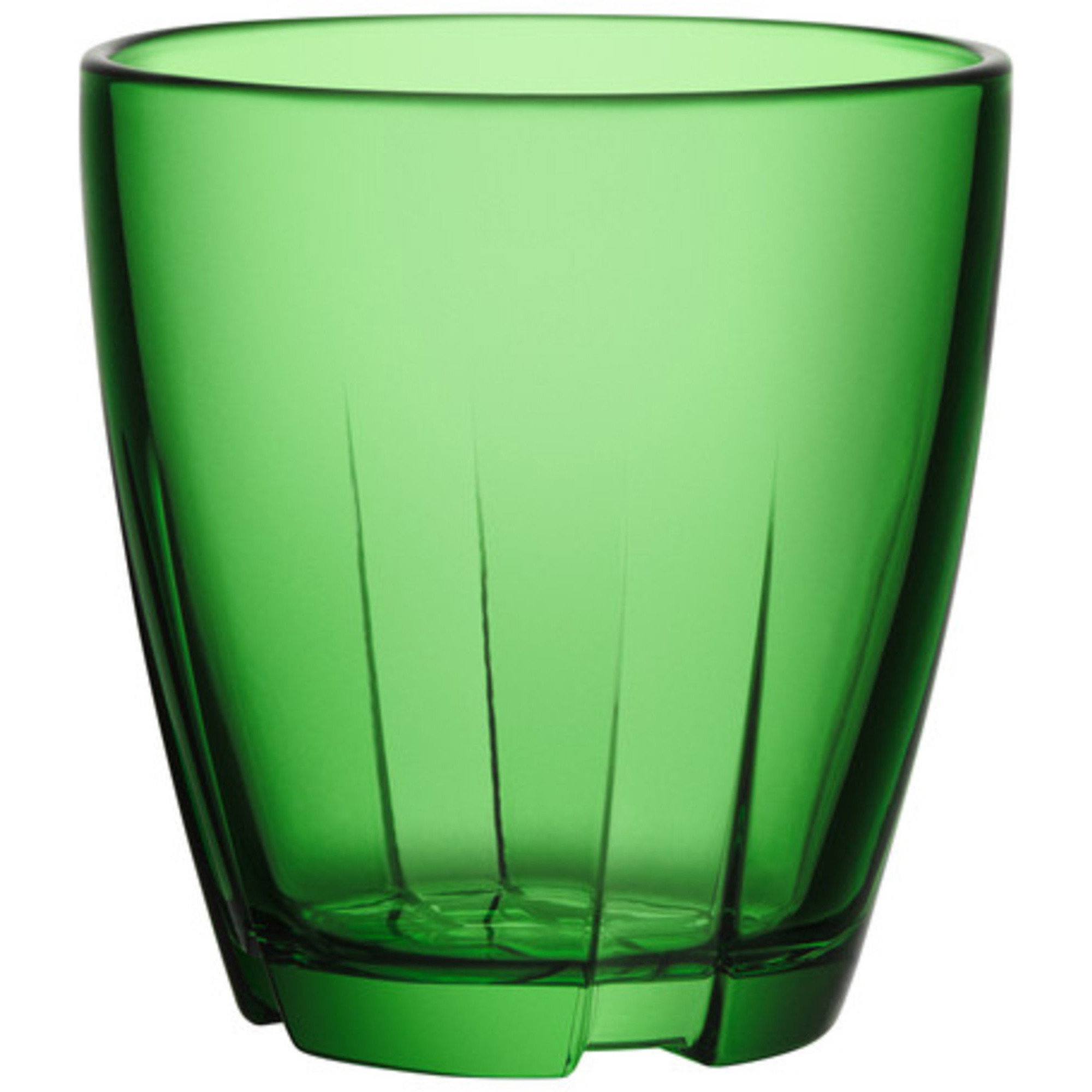 Kosta Boda Bruk Tumblerglas Grön Litet