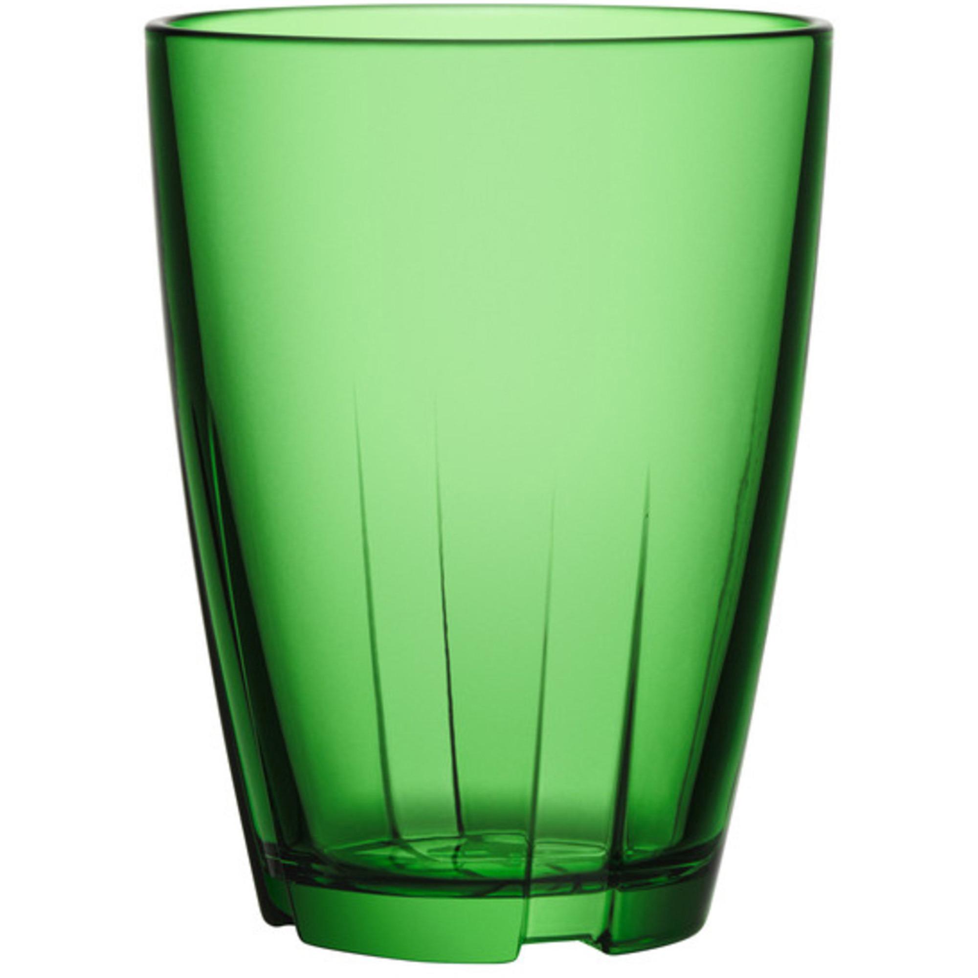 Kosta Boda Bruk Tumblerglas Grön Stort