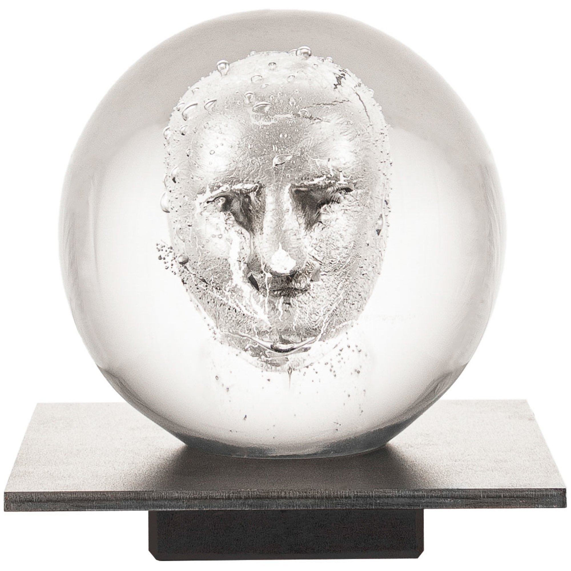 Kosta Boda Headman Skulptur 12 cm. Klar