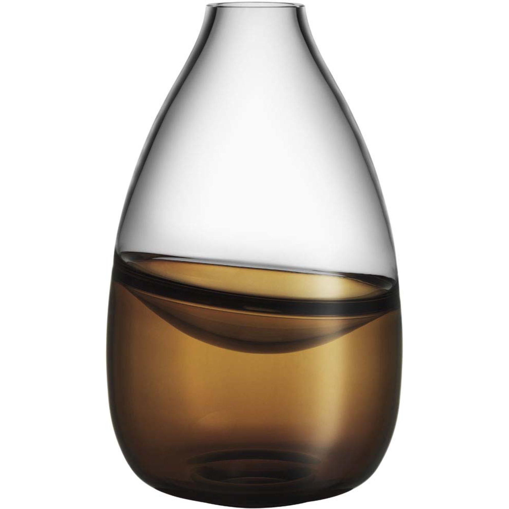 Kosta Boda Septum Guldbrun Vas Limited Edition