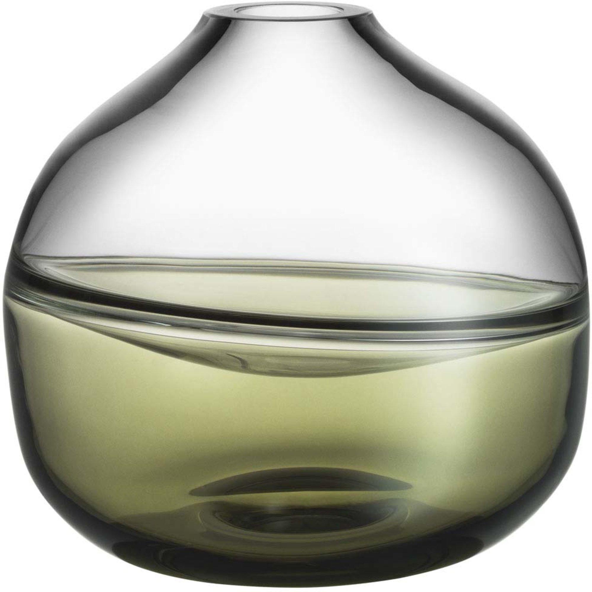 Kosta Boda Septum Mossgrön Vas Limited Edition