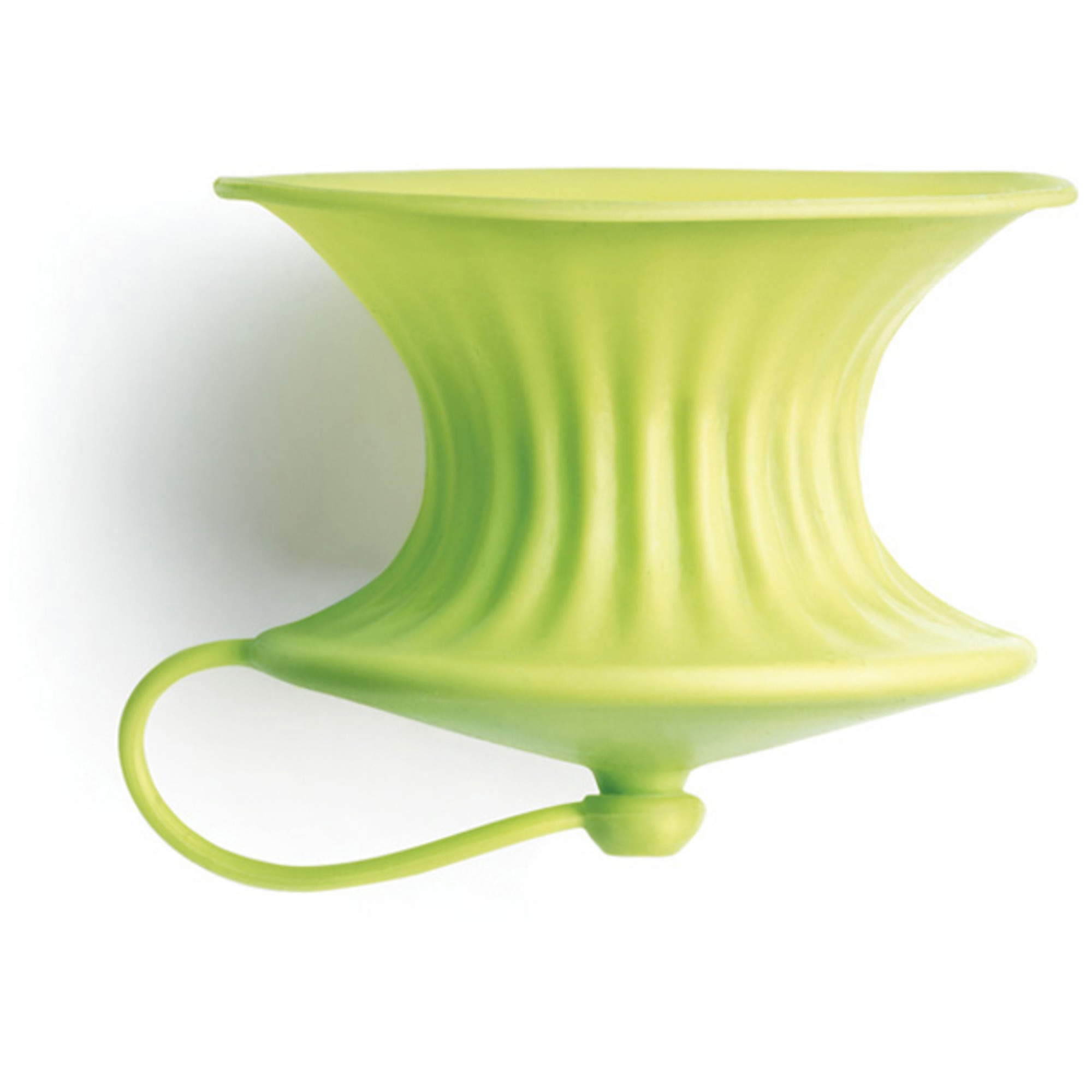 Lékué Citronpress i silikon 2-pack limegrön