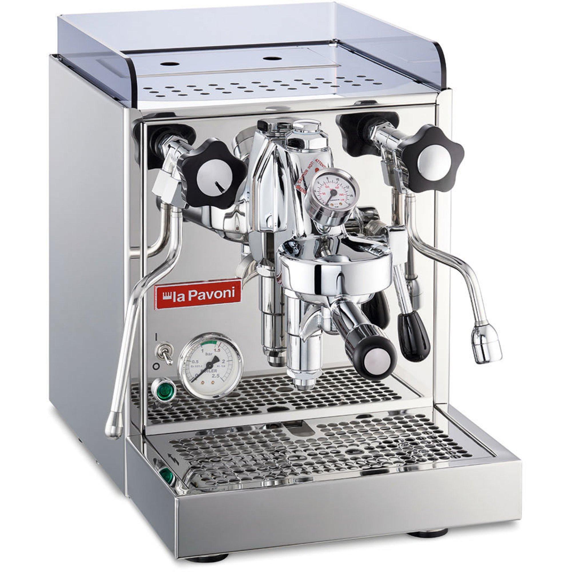 La Pavoni Cellini Classic Espressomaskin stål LPSCCC01EU