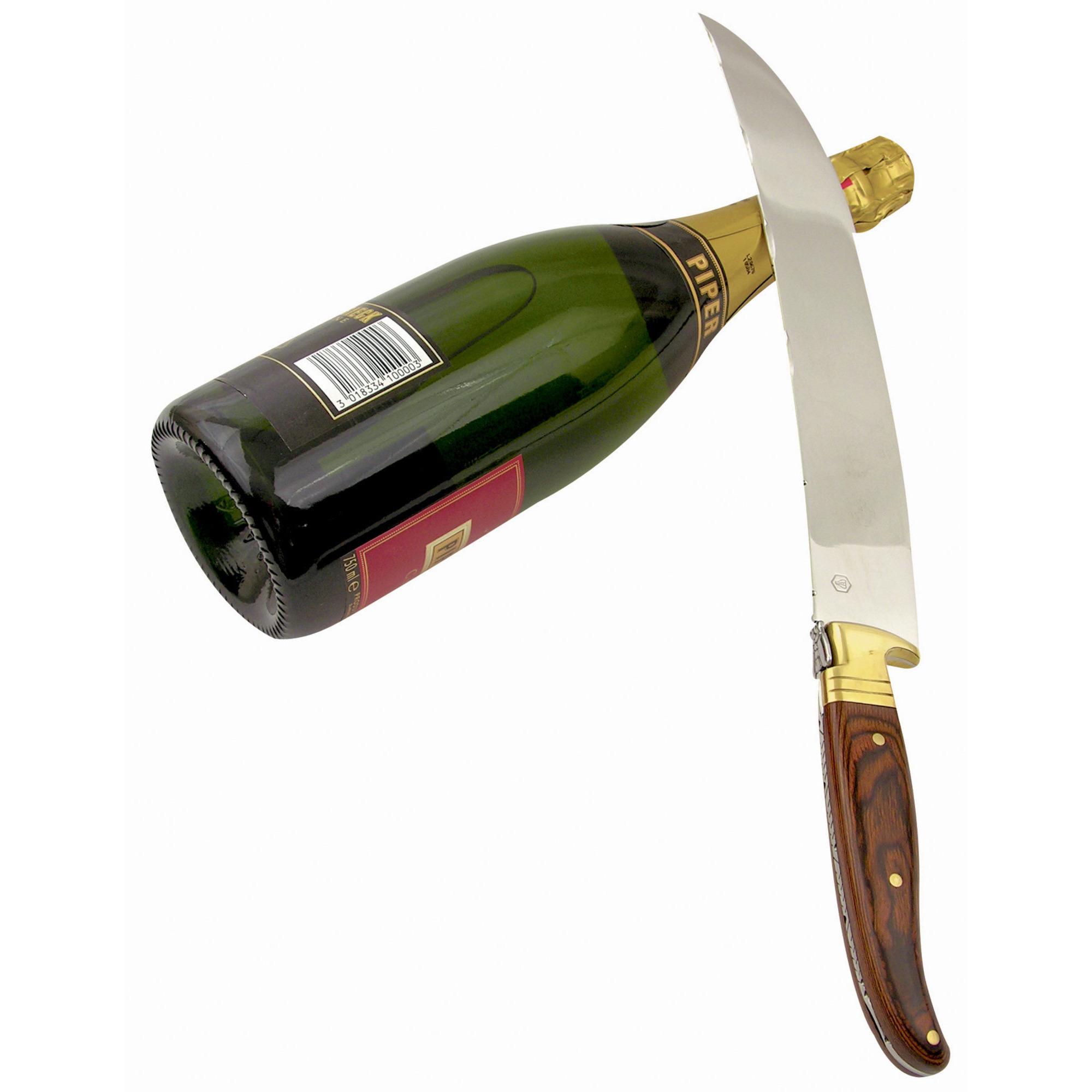 Laguiole La Roque Champagnesabel i träask