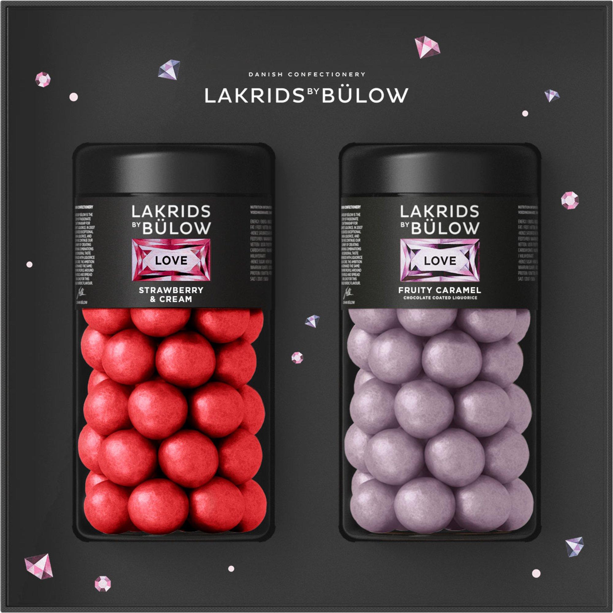 Lakrids by Bülow Black Box Love Regular