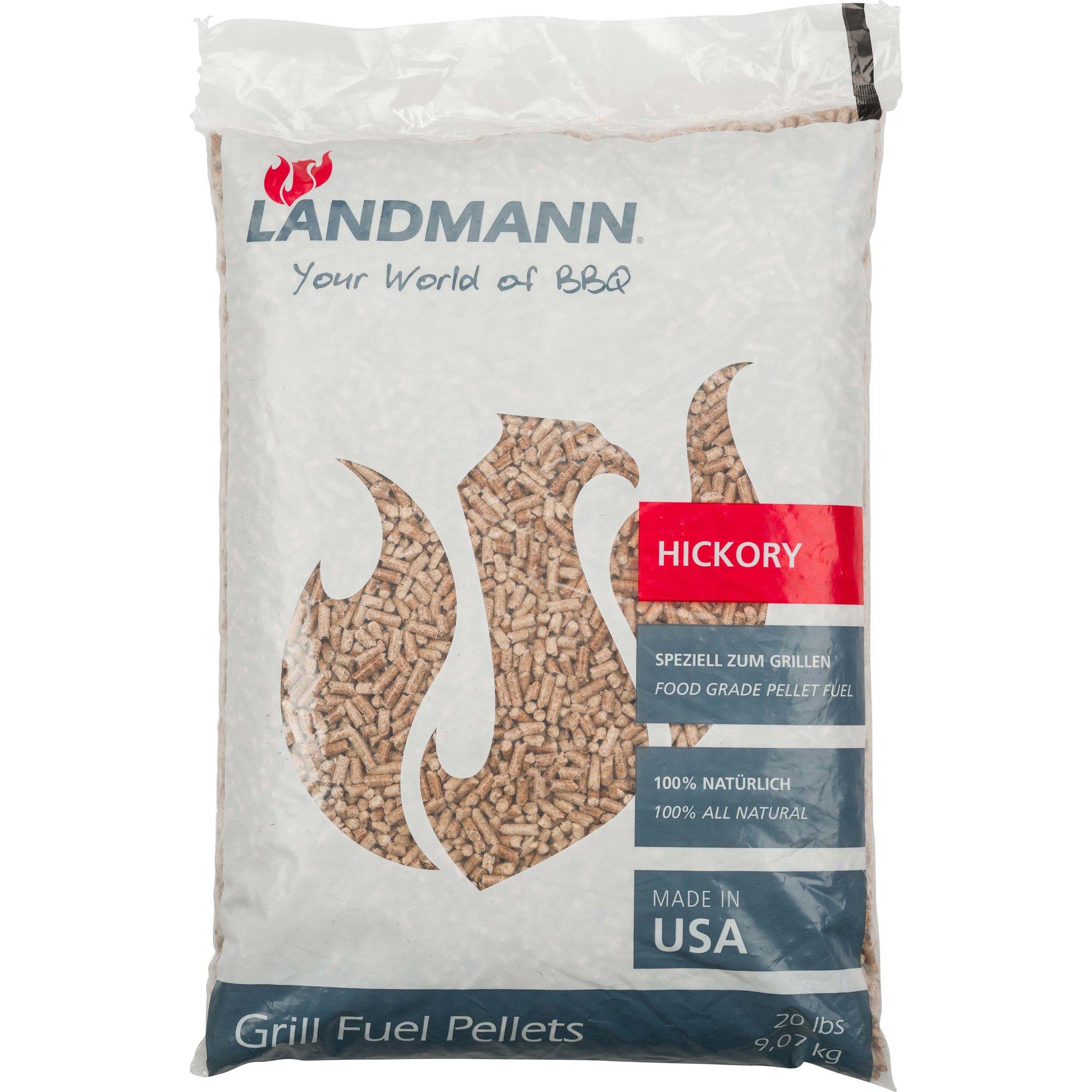 Landmann Pellets hickory 9 kg.
