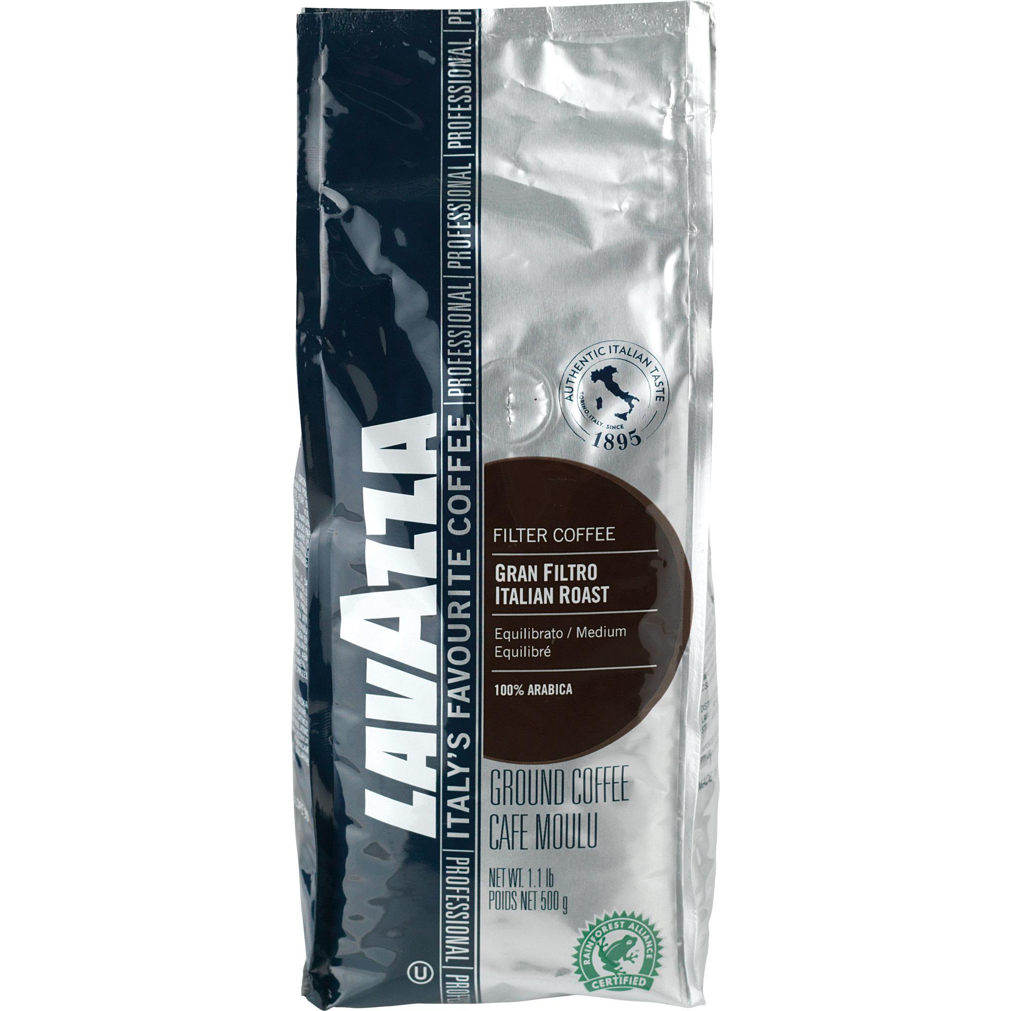 Lavazza Gran Filtro Italian Roast filterkaffe