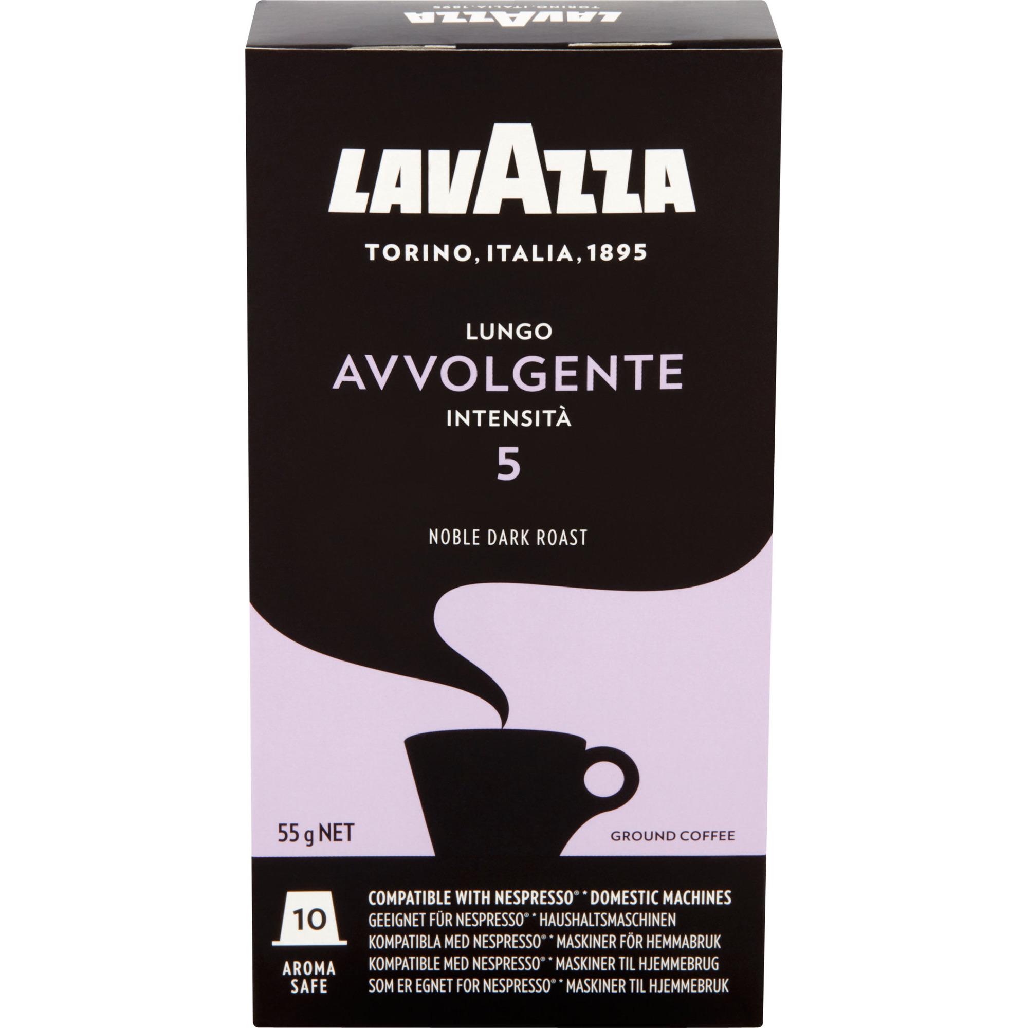 Lavazza Lungo Avvolgente kaffekapslar