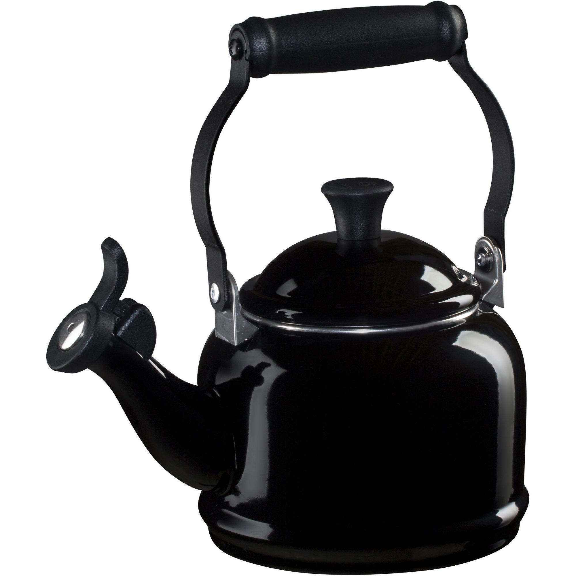 Le Creuset Demi Vattenkittel med vissla Black 11 liter