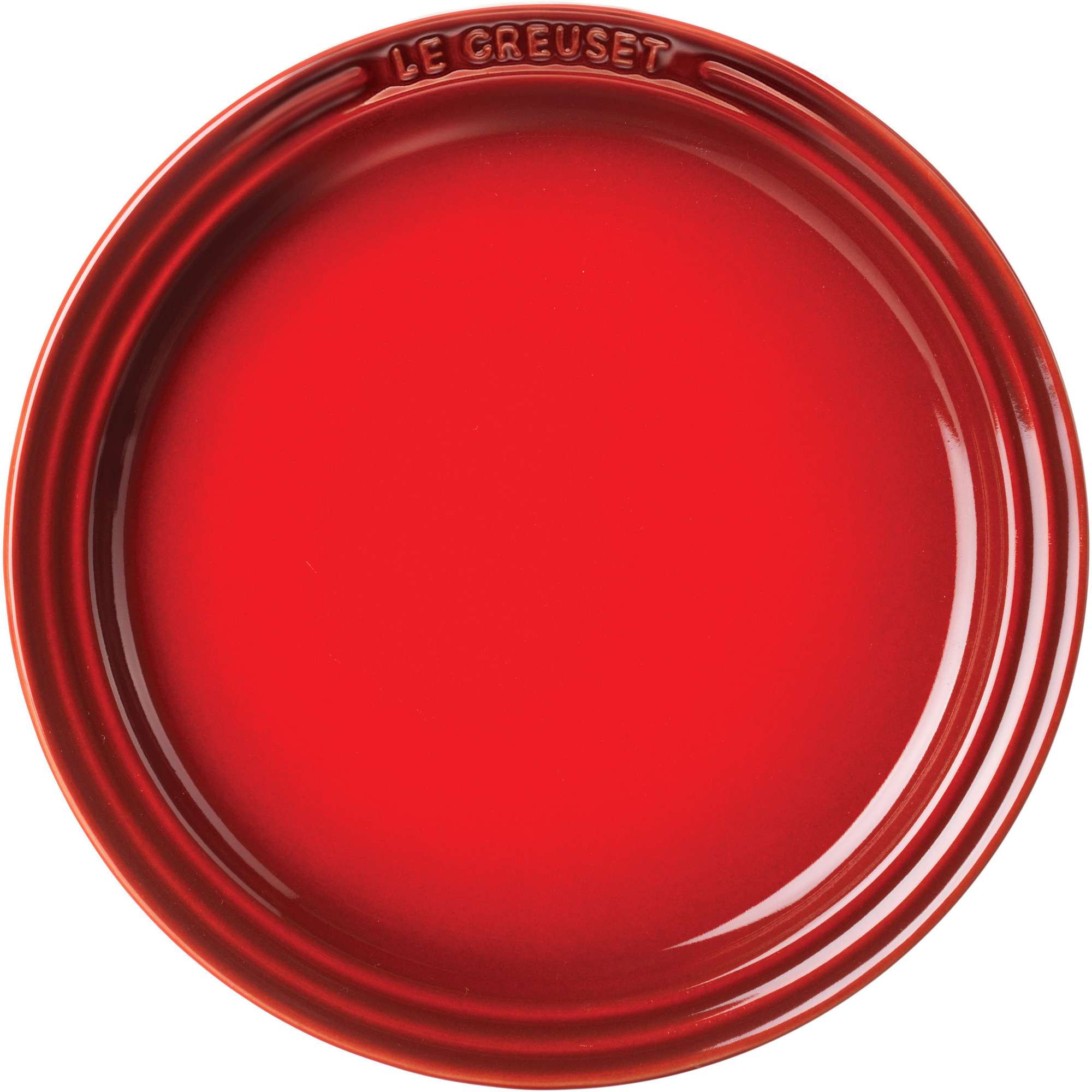 Le Creuset Tallrik 18 cm Röd