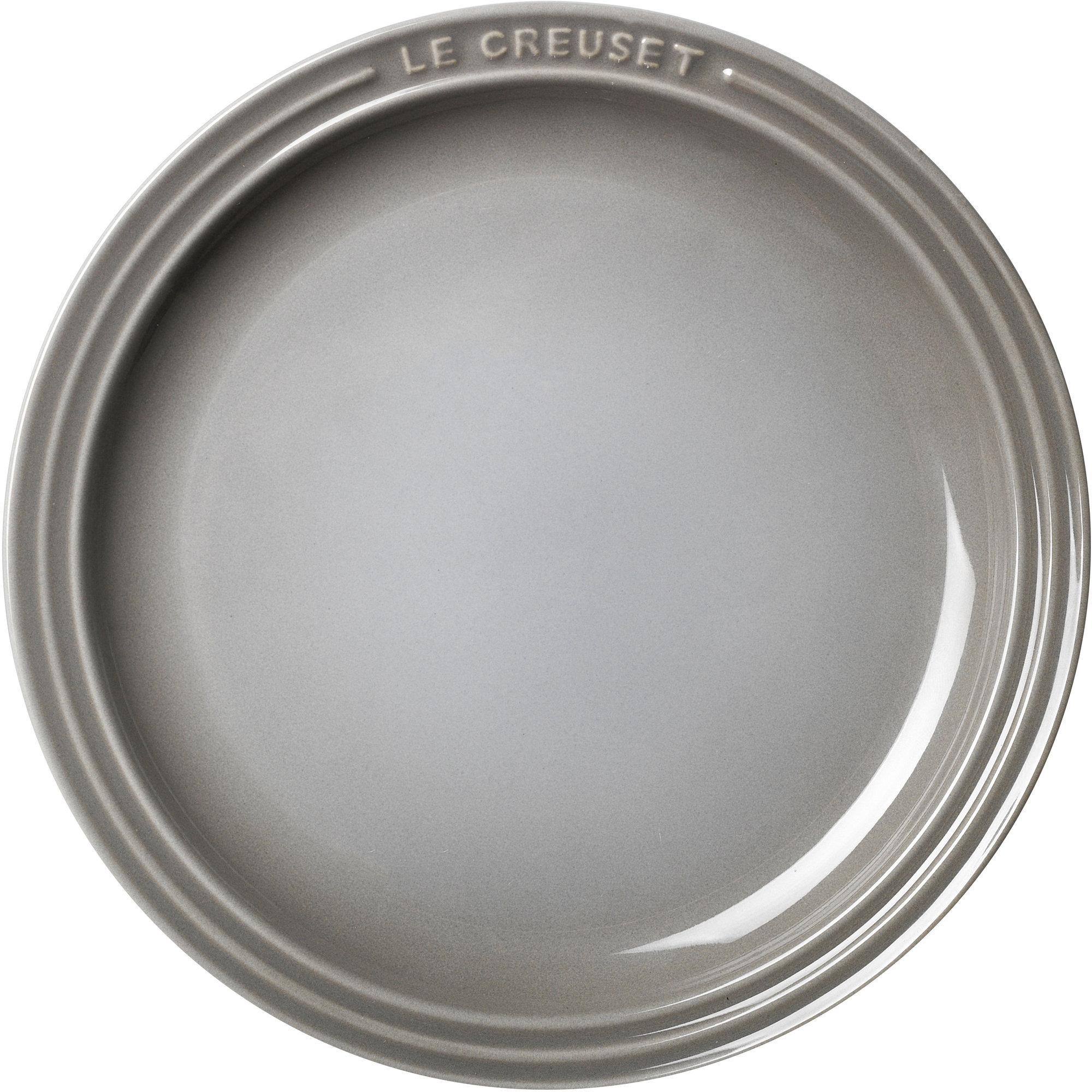 Le Creuset Frukosttallrik 23 cm Mist Gray