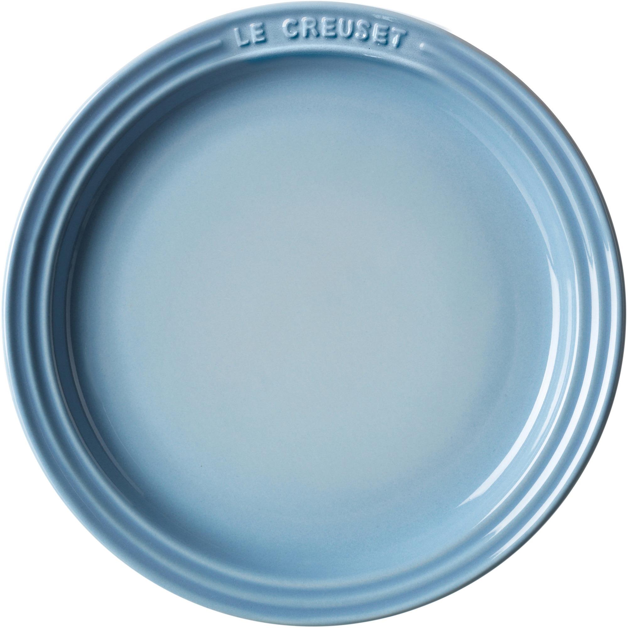 Le Creuset Lunchtallrik 23 cm Coastal Blue