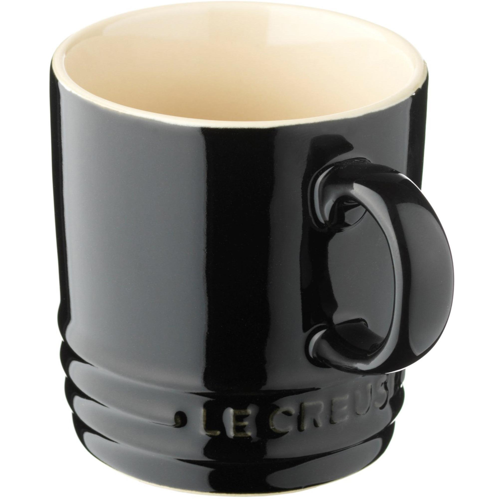 Le Creuset Kaffemugg 02 L Svart