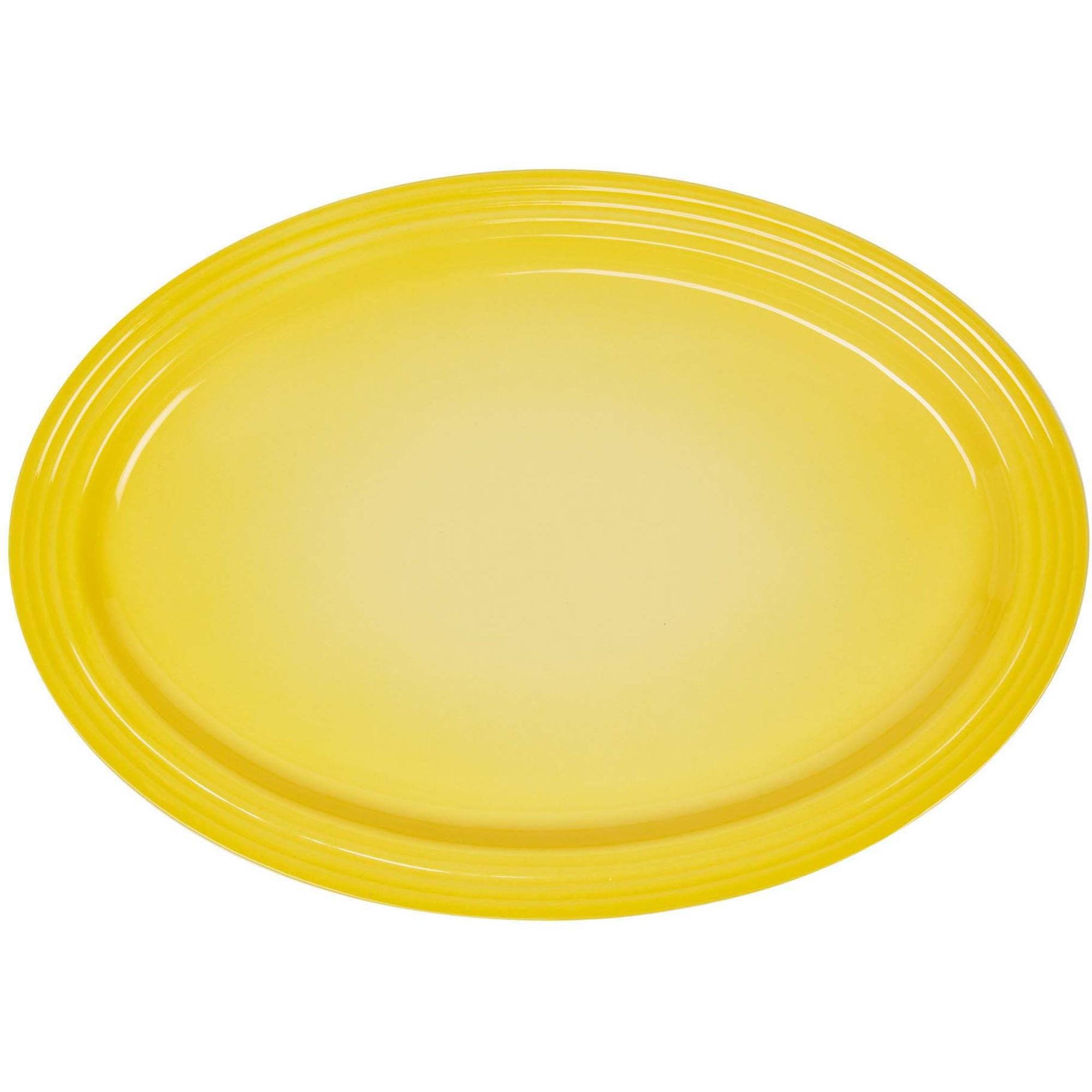 Le Creuset Signature Stort ovalt serveringsfat 46cm Soleil