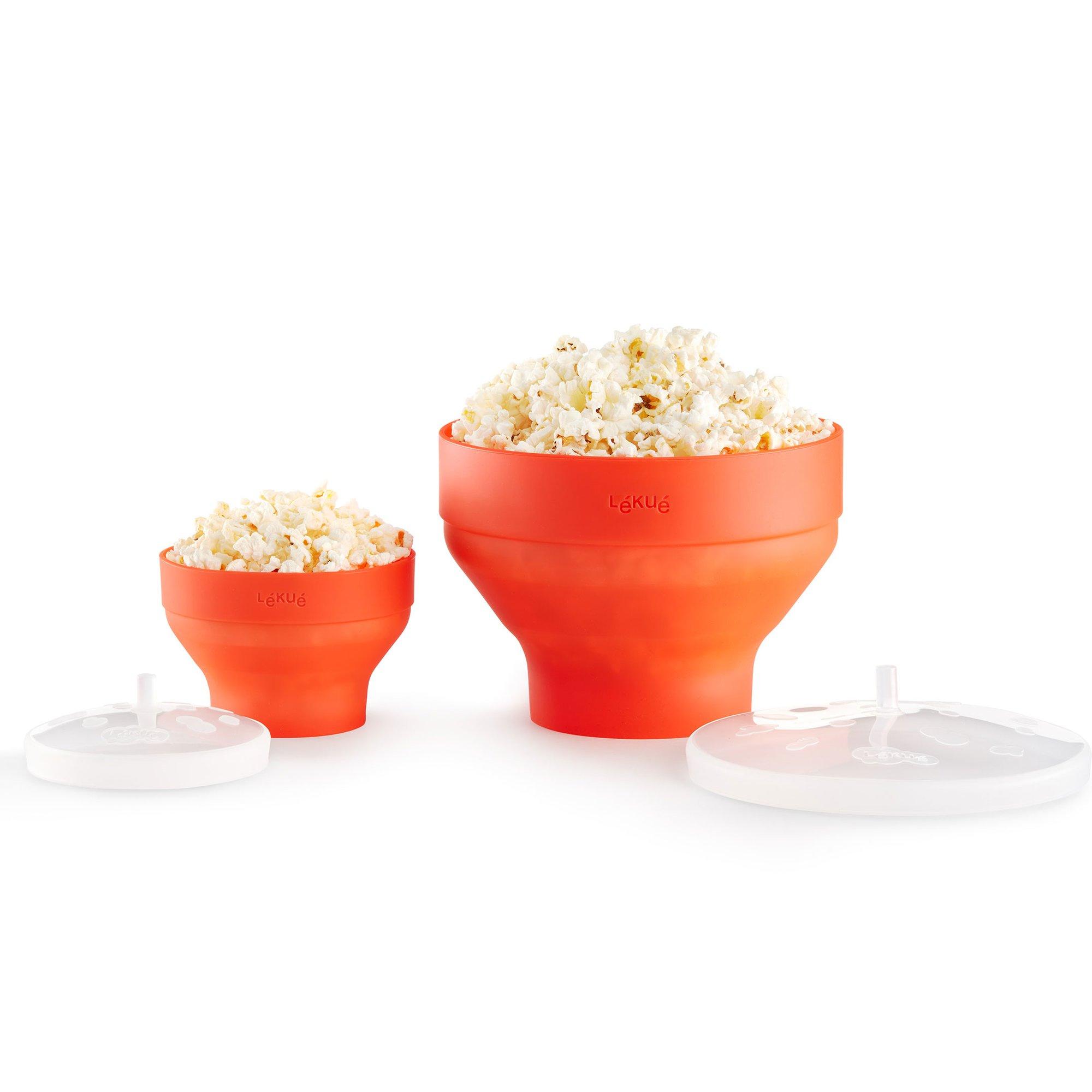 Lékué Mini popcornskål 2 st.