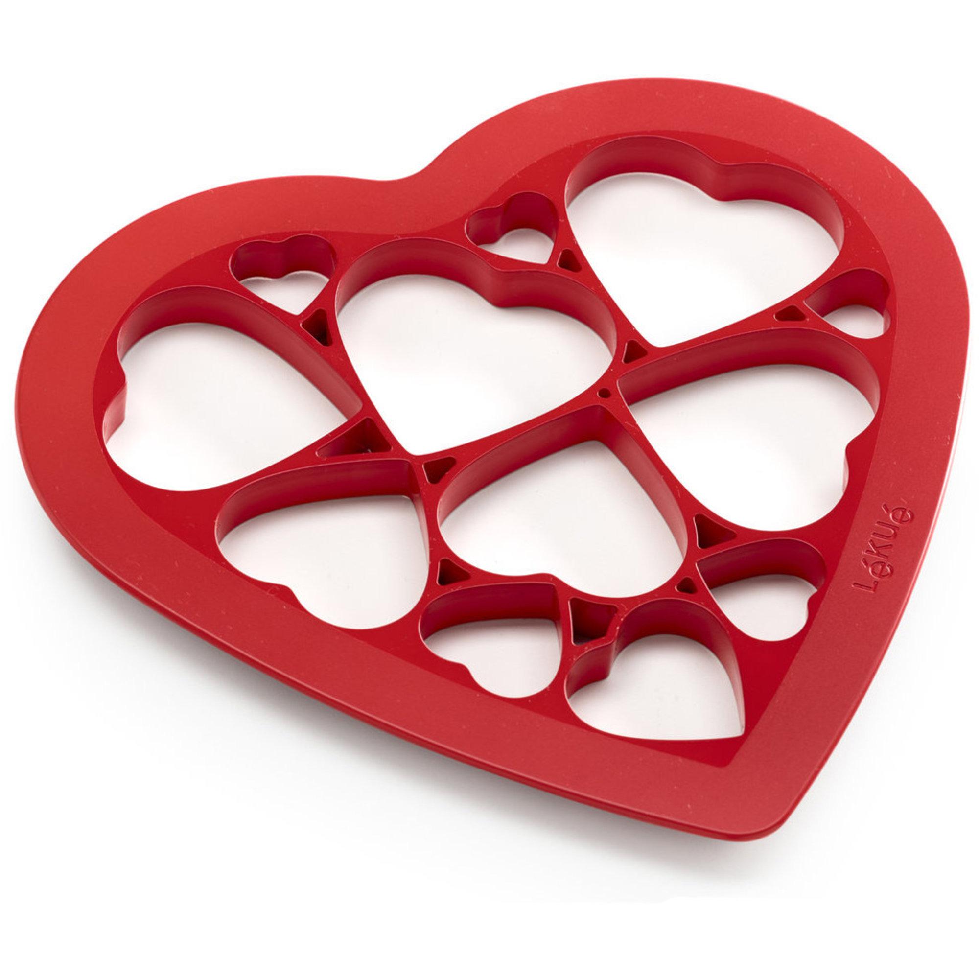 Lékué Puzzle Hjärta