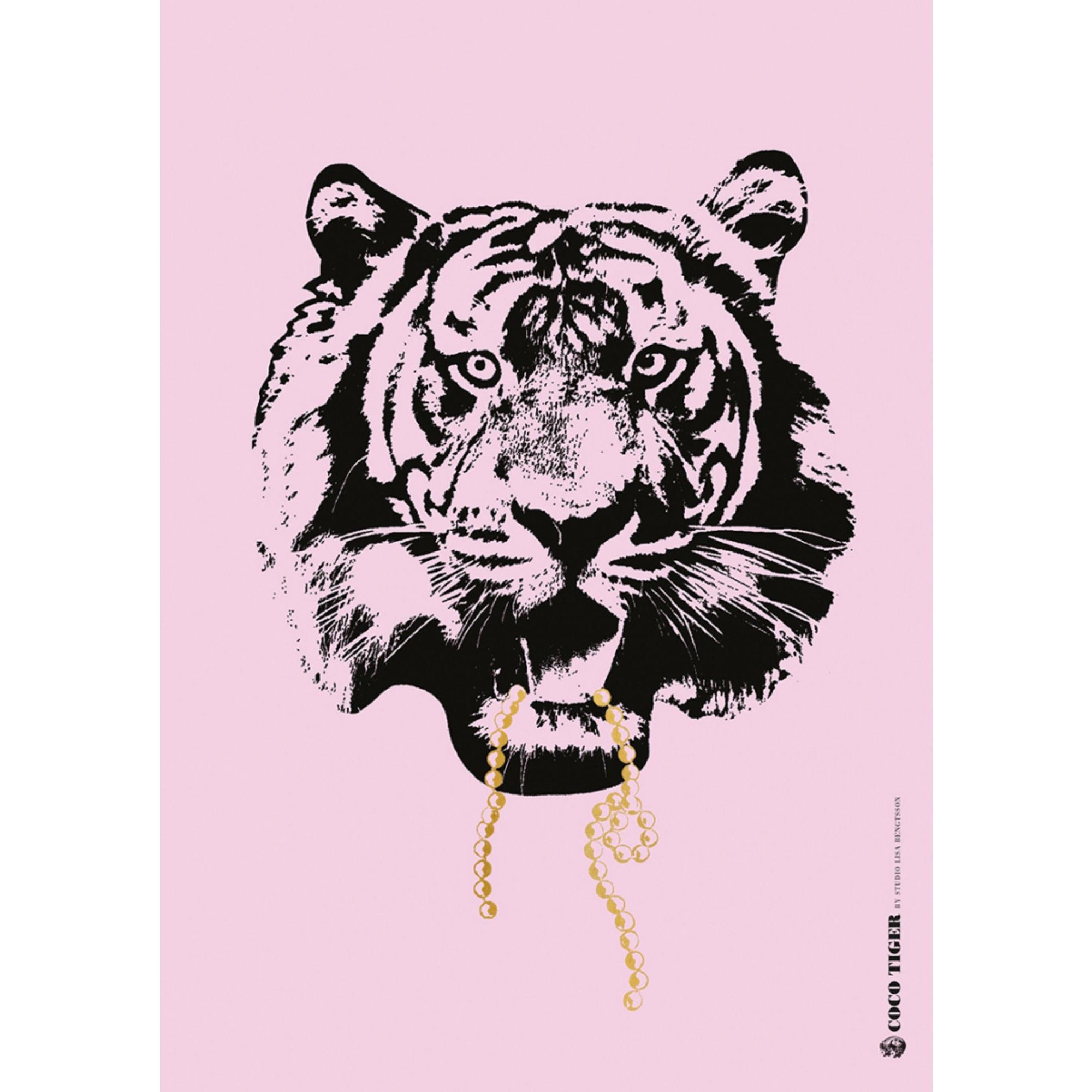 Lisa Bengtsson Poster Pink Coco A3