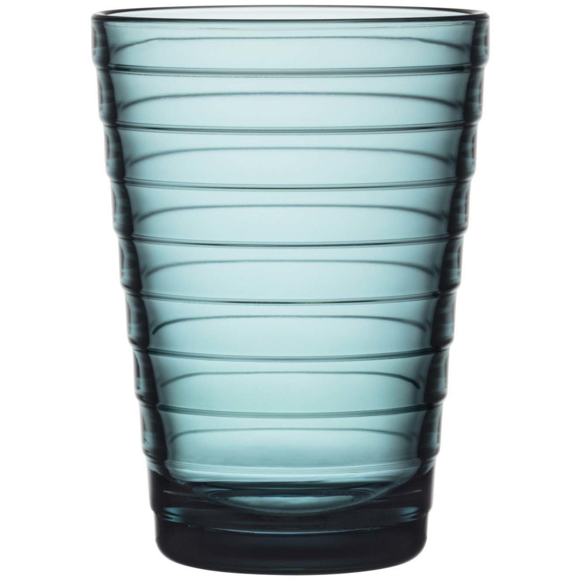 Iittala Aino Aalto glas 33 cl havsblå 2 st