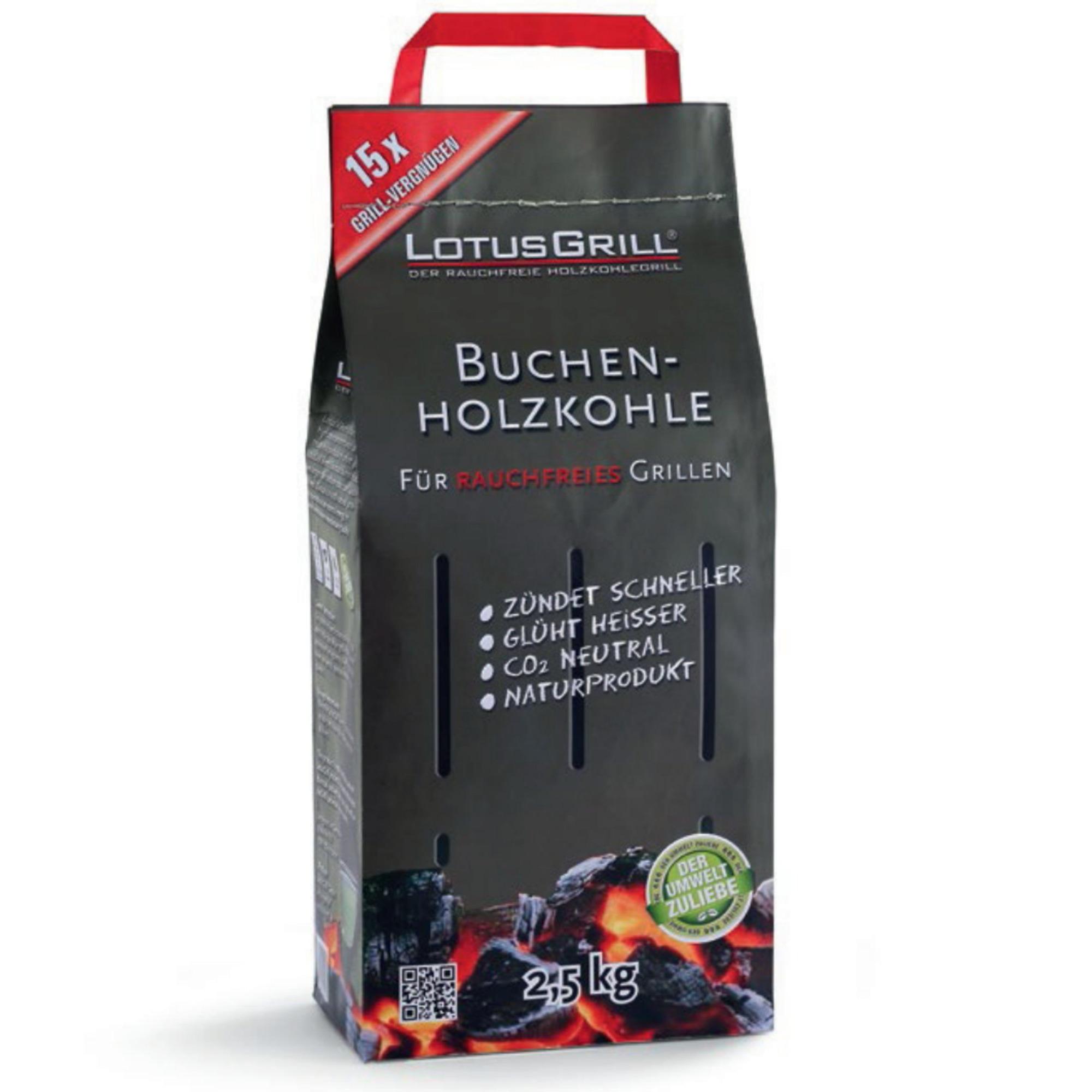 LotusGrill kol 25 kg (Påse)