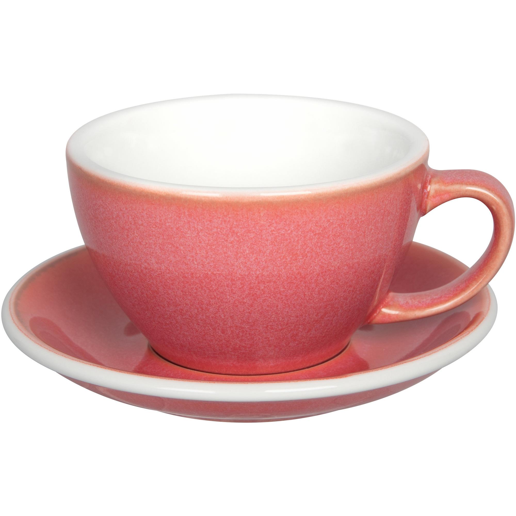 Loveramics Egg Café Lattekopp 300 ml 6 st Berry