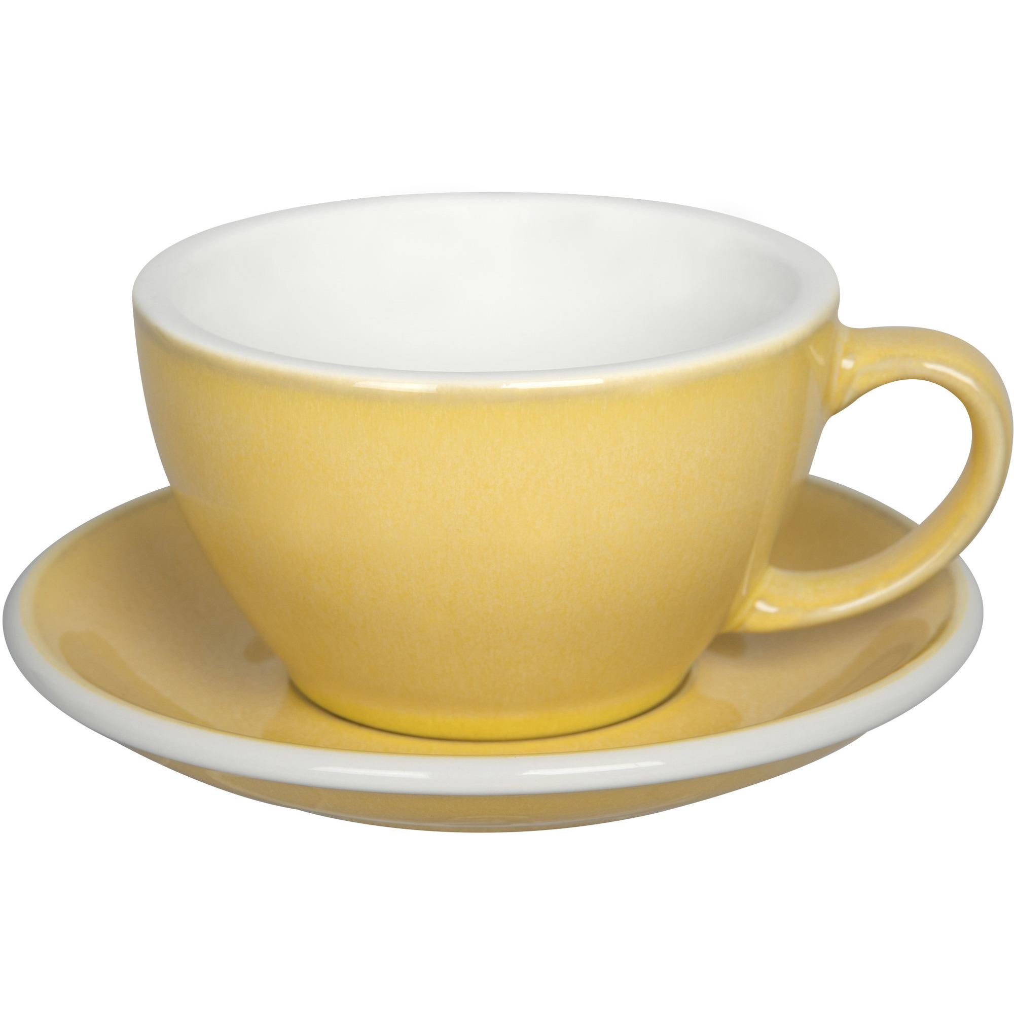 Loveramics Egg Café Lattekopp 300 ml 6 st Butter cup