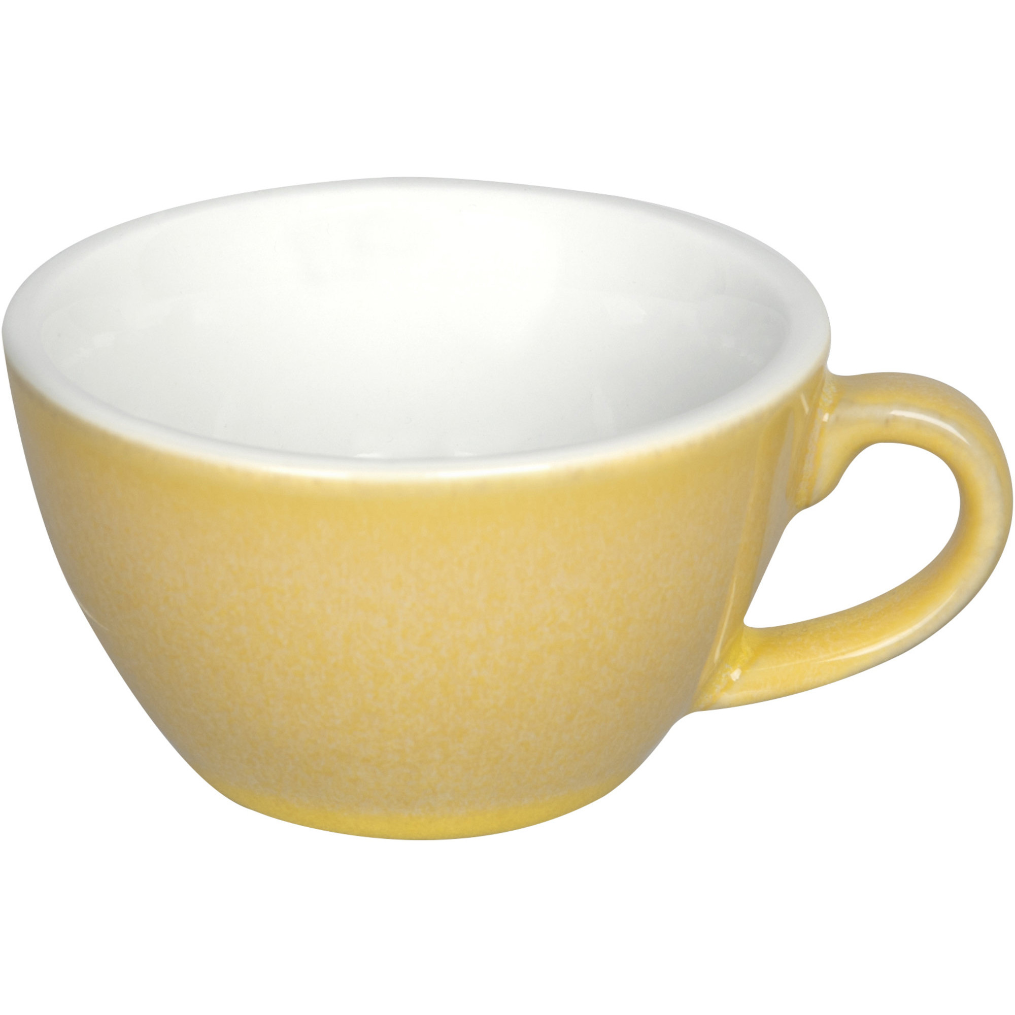 Loveramics Egg Flat White kaffekopp 150 ml. 6 st. Gul