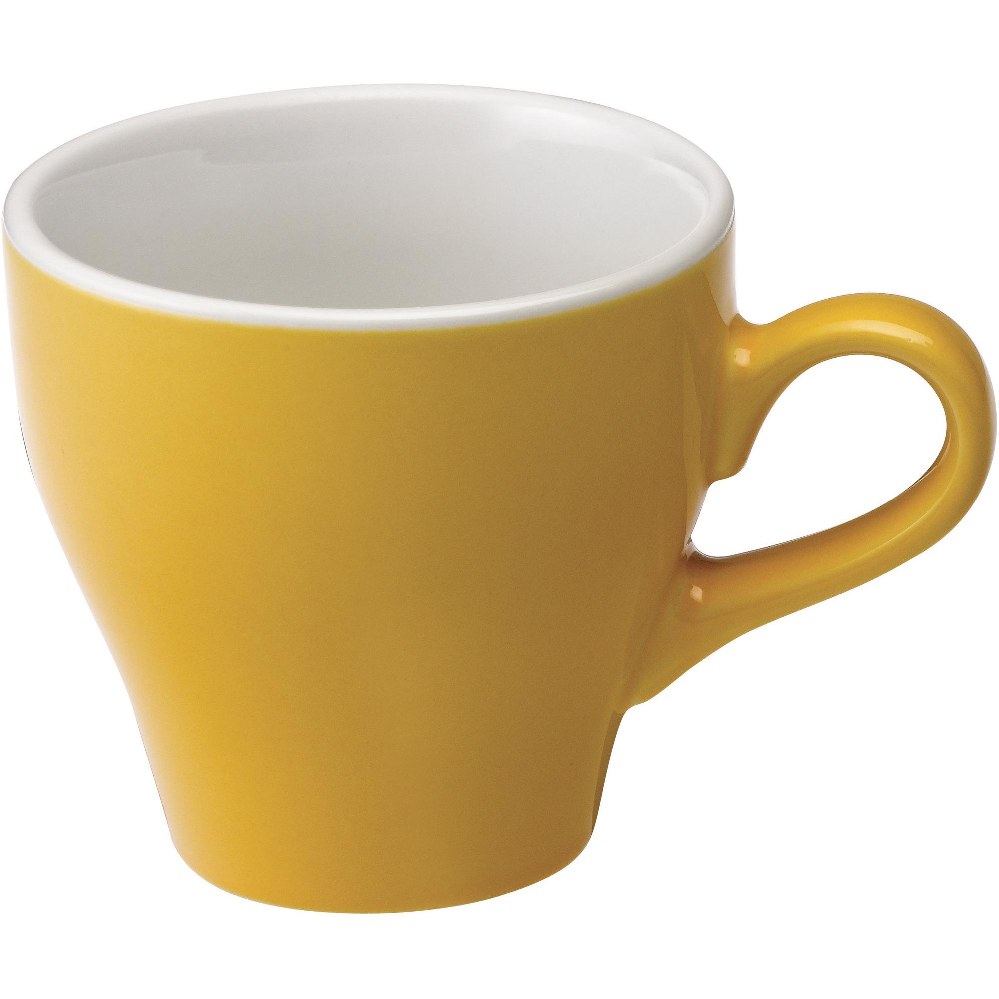 Loveramics Tulip Café Lattekopp 280ml. 6 st. Yellow