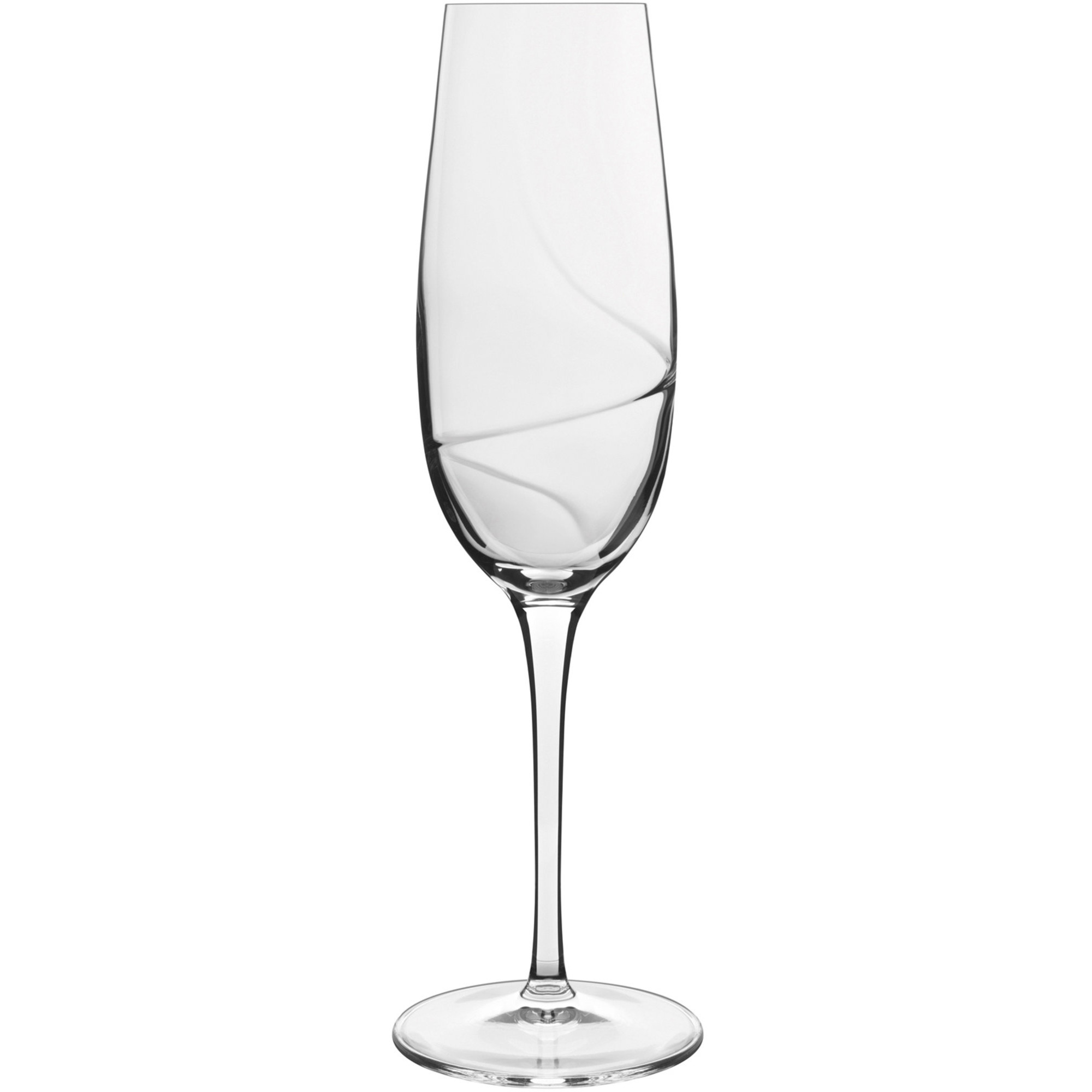 Luigi Bormioli Aero champagneglas 6 st.