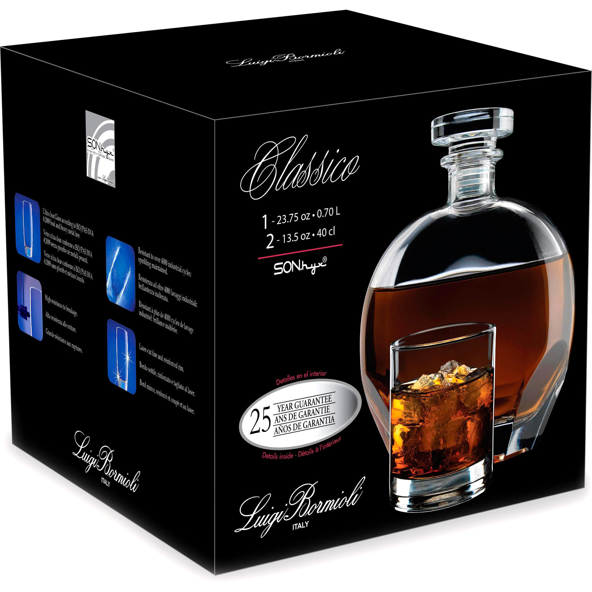Luigi Bormioli Classico Whiskyset