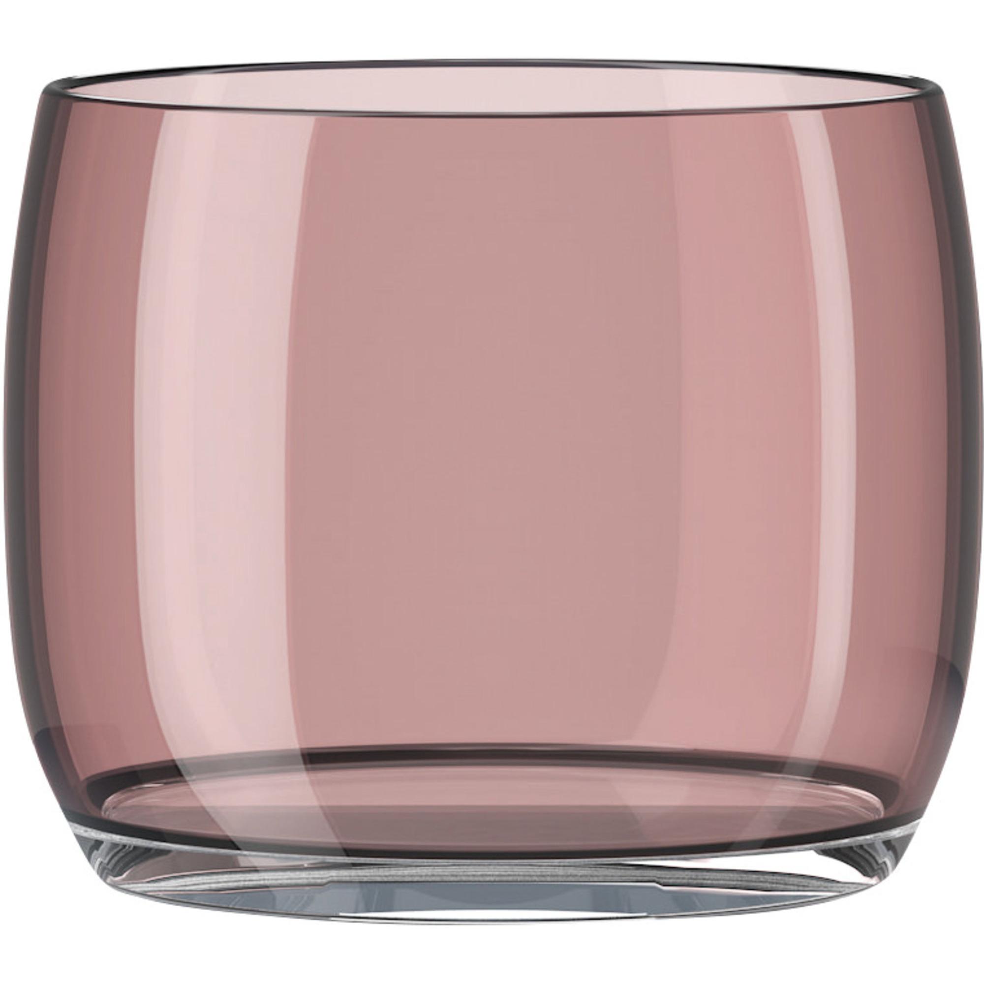 Lyngby Porcelæn 2 st. AB/C glas, burgundy