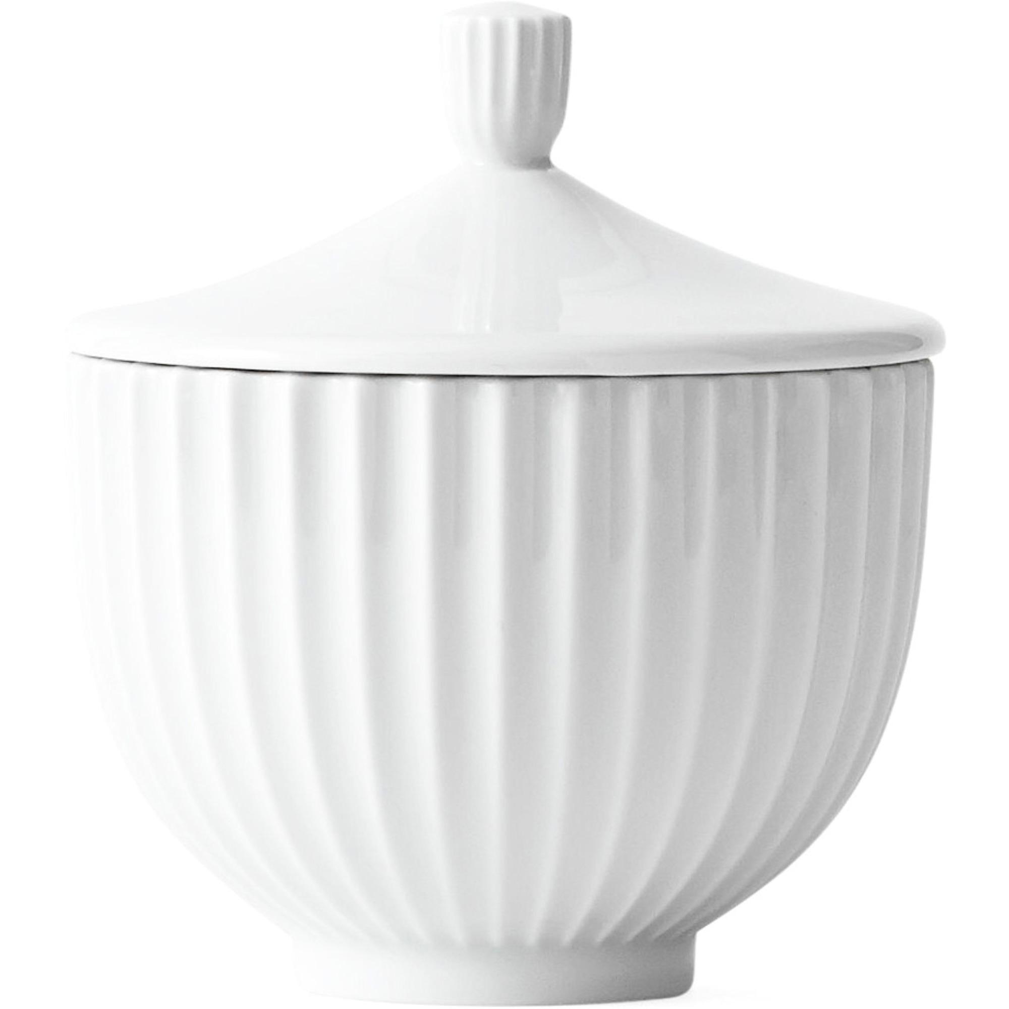 Lyngby Porcelæn Bonbonniere 10 cm.