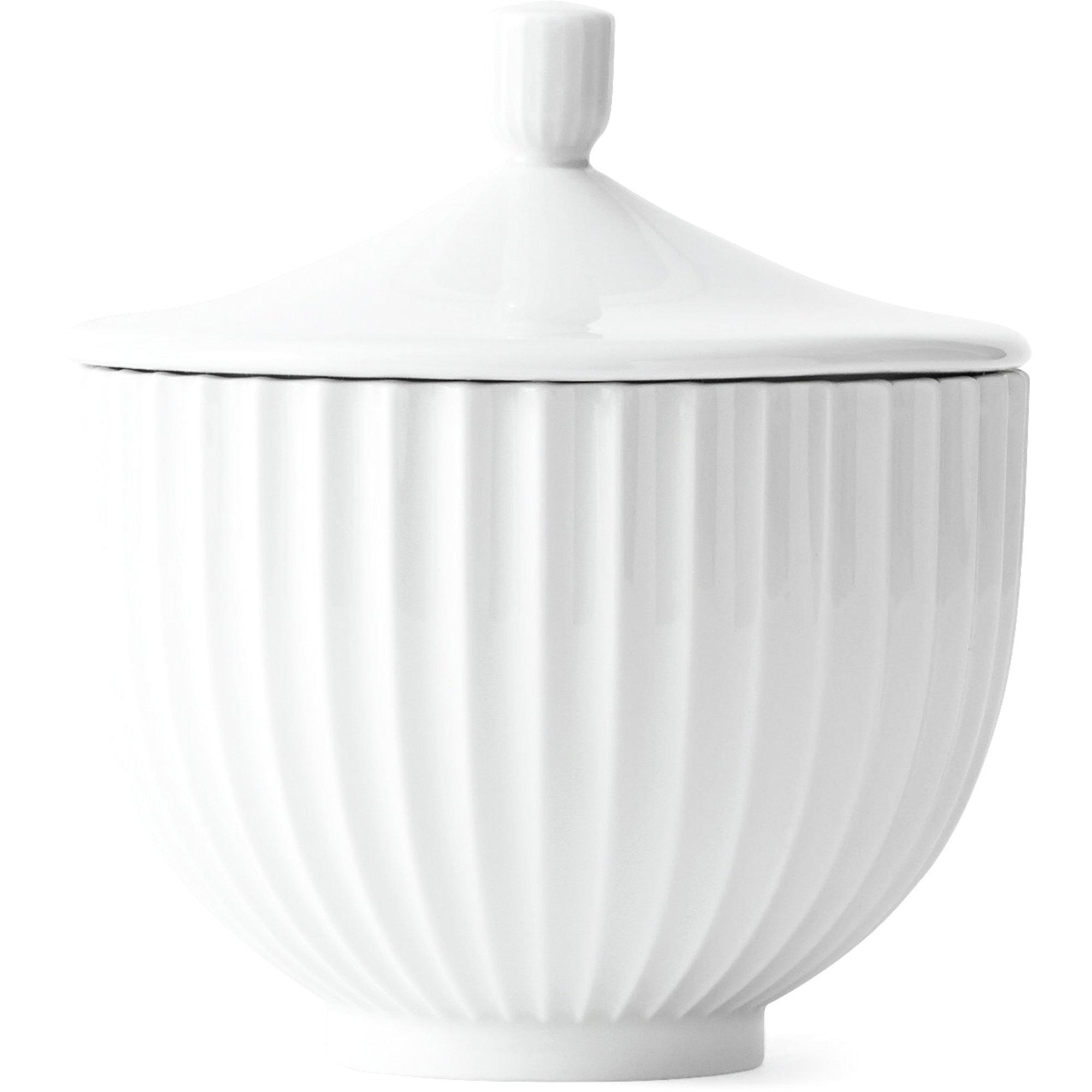 Lyngby Porcelæn Bonbonniere 14 cm.