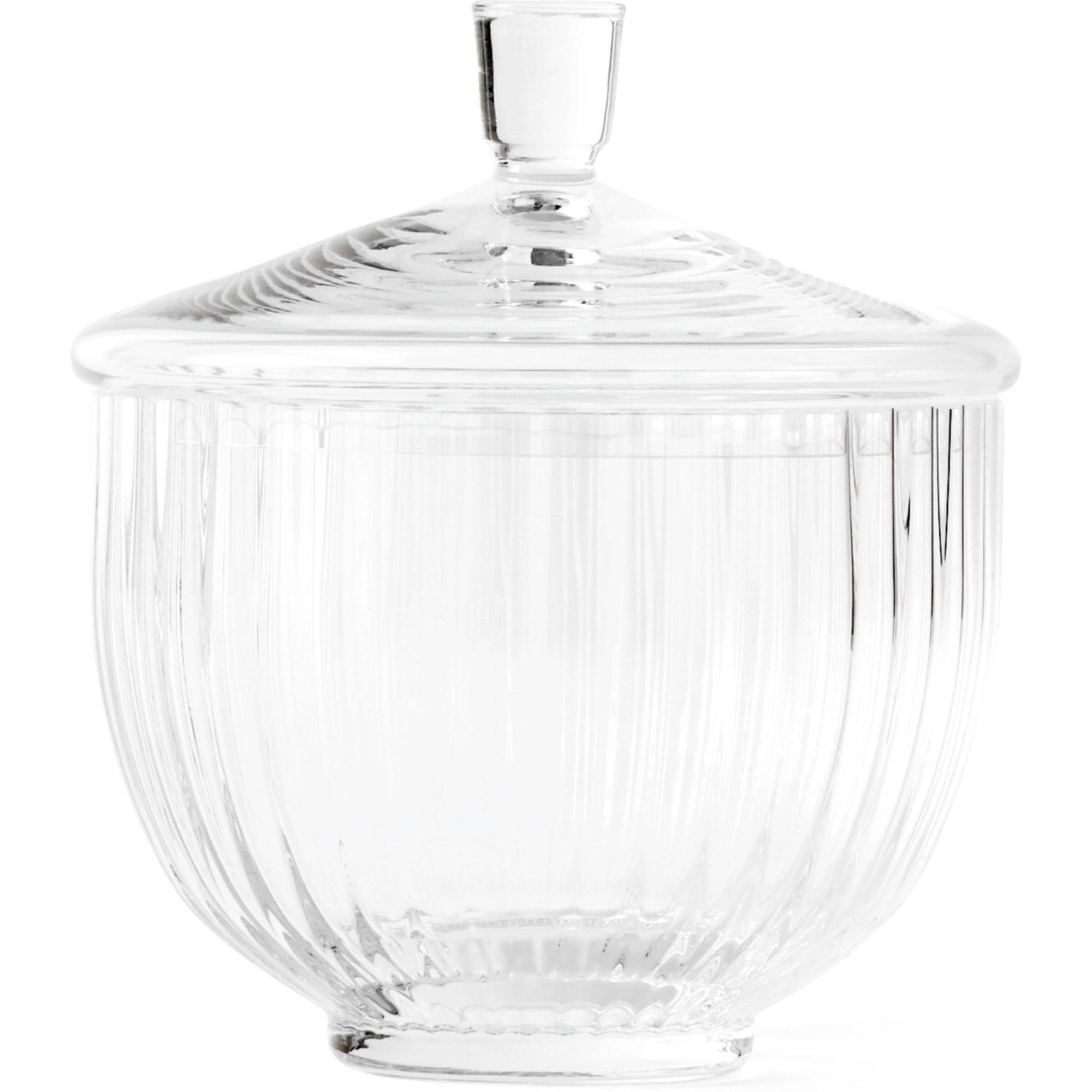 Lyngby Porcelæn Bonbonniere 14 cm. glas