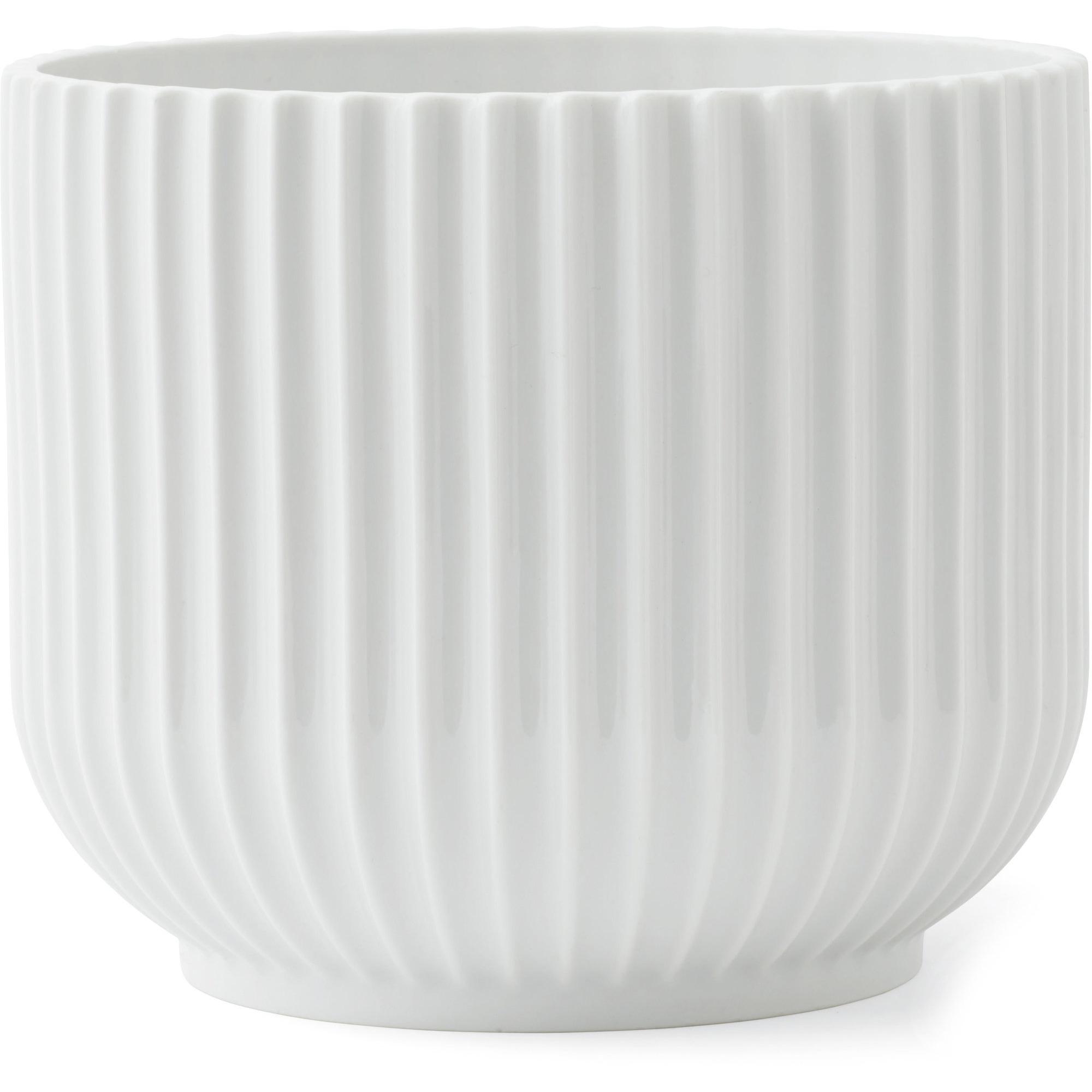 Lyngby Porcelæn Flowerpot medium (H 13 x Ø 145 cm.)
