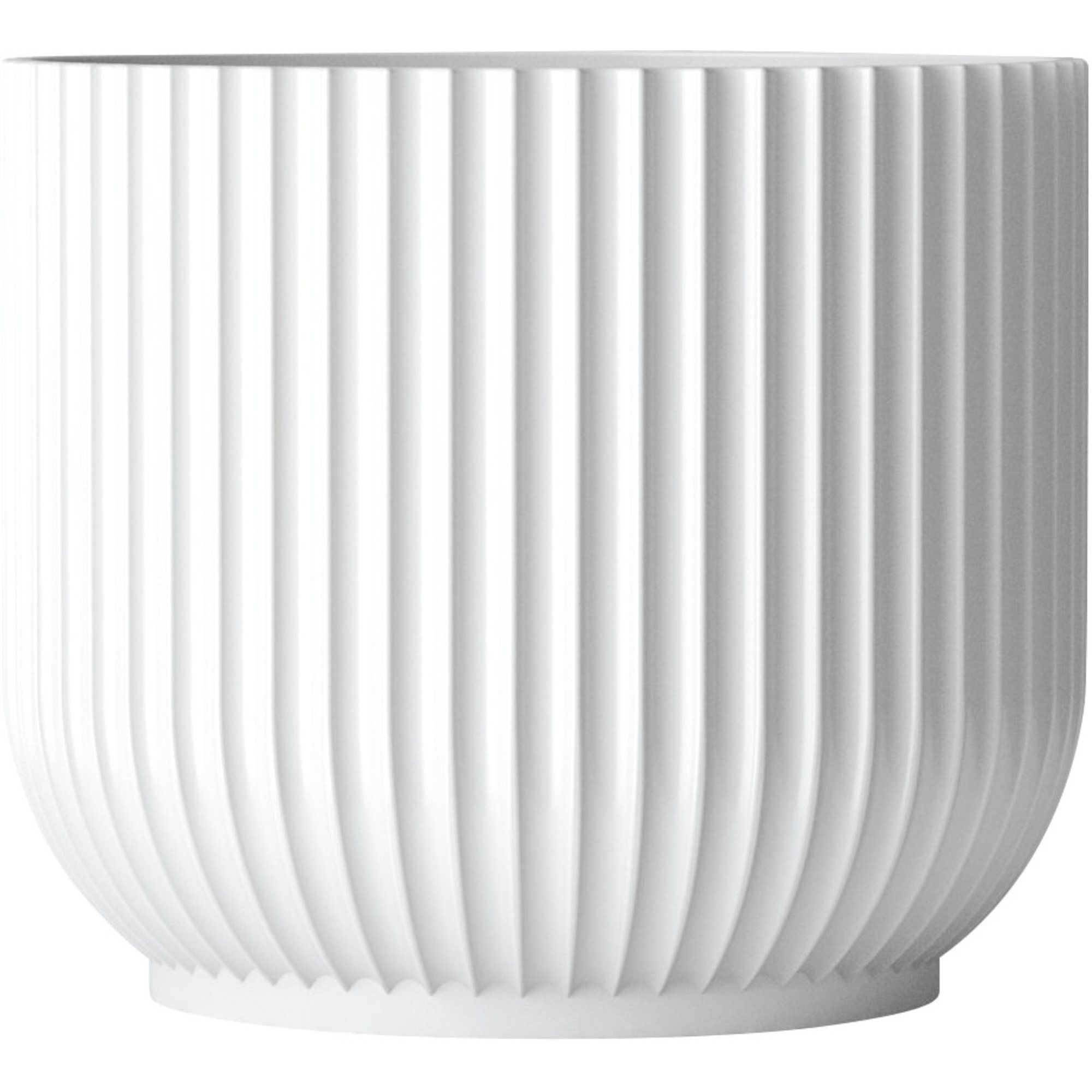 Lyngby Porcelæn Flowerpot stor (H 189 x Ø 18 cm.)