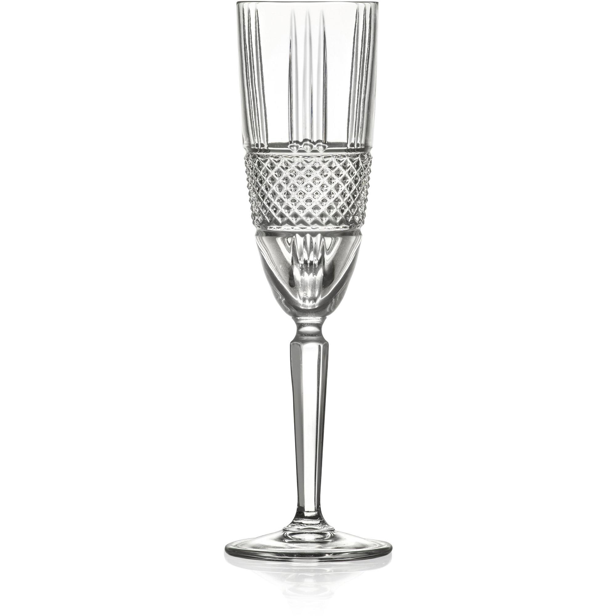Lyngby Glas Brilliante Champagneglas 4 st