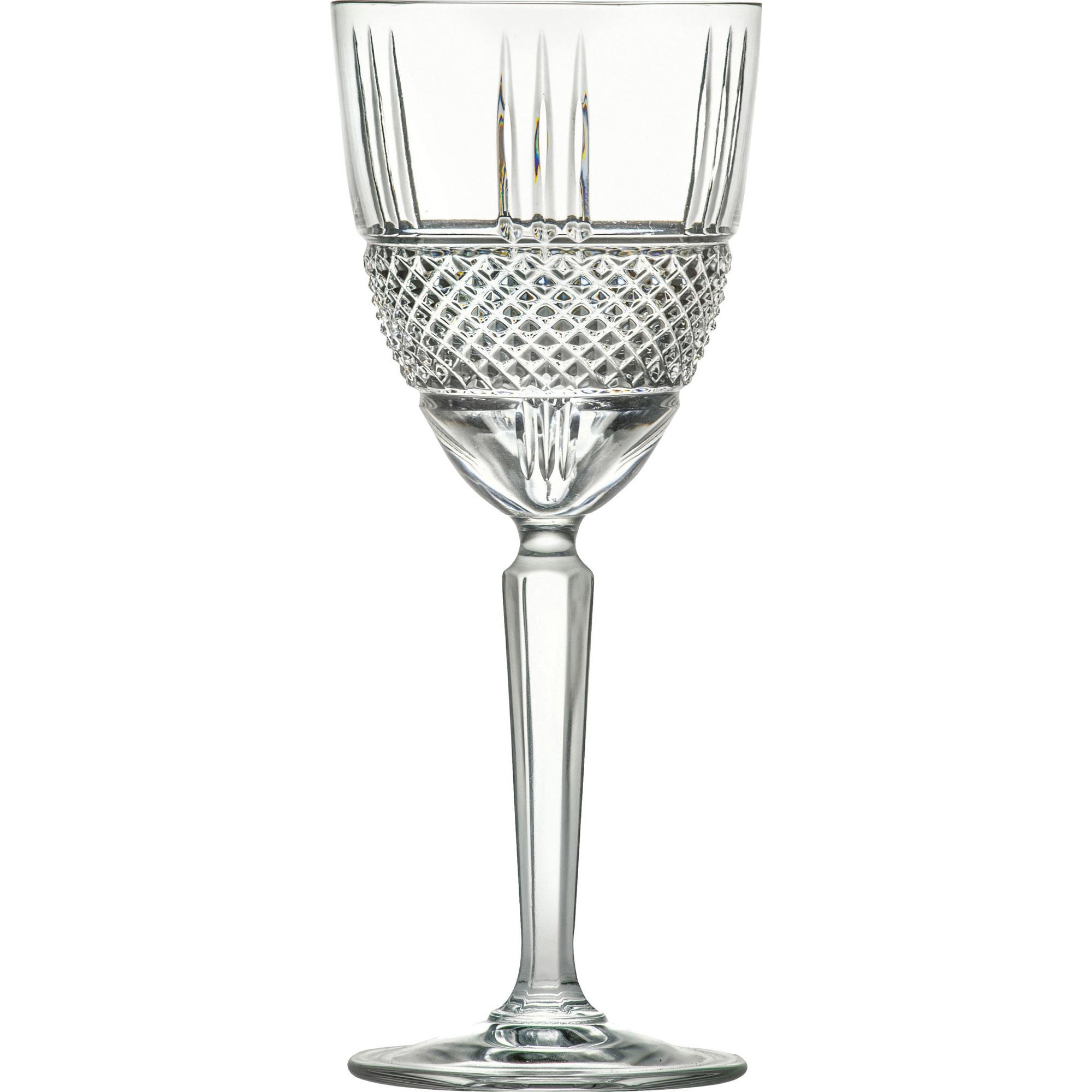 Lyngby Glas Brilliante Vitvinsglas 4 st