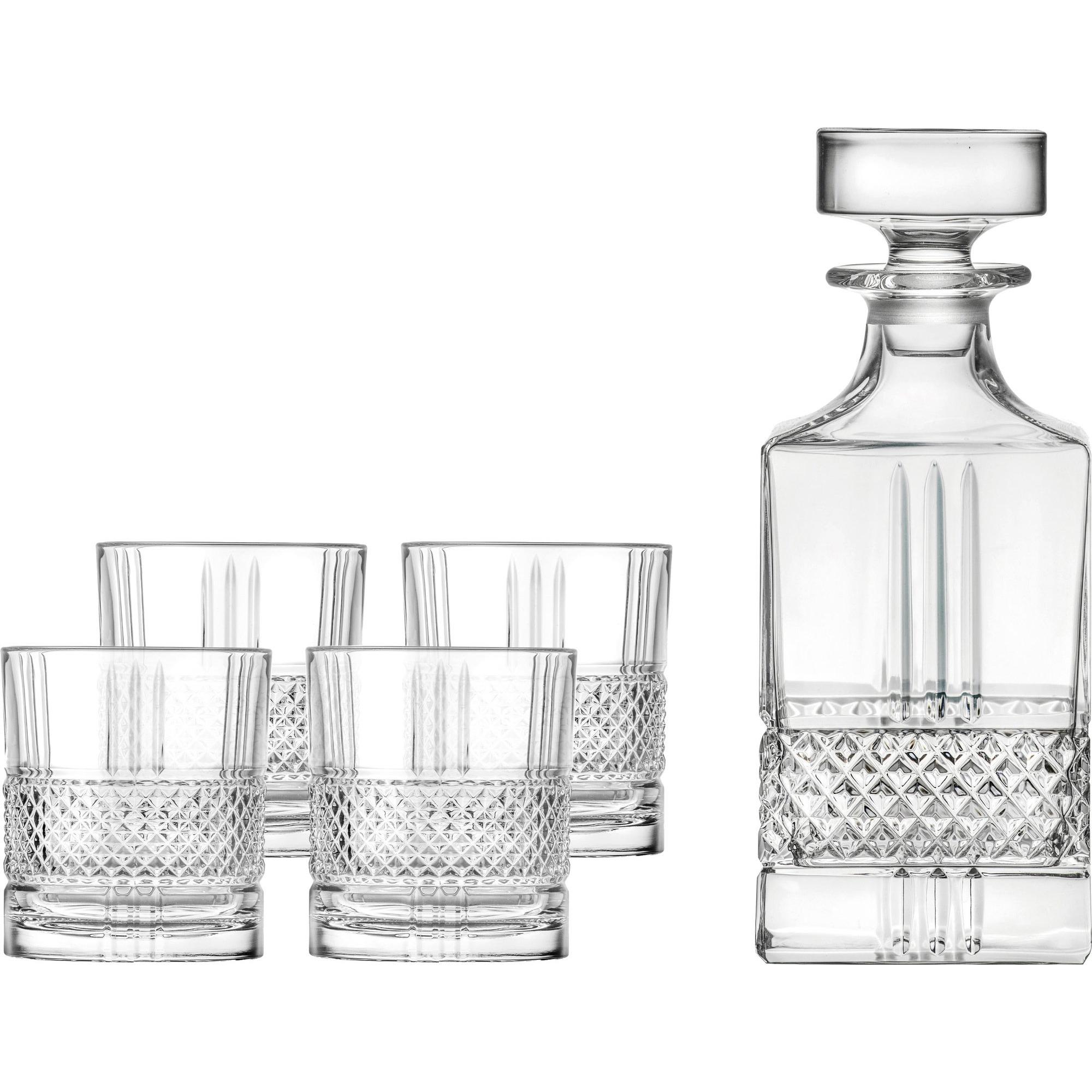 Lyngby Glas Brilliante Whiskyset 5 delar