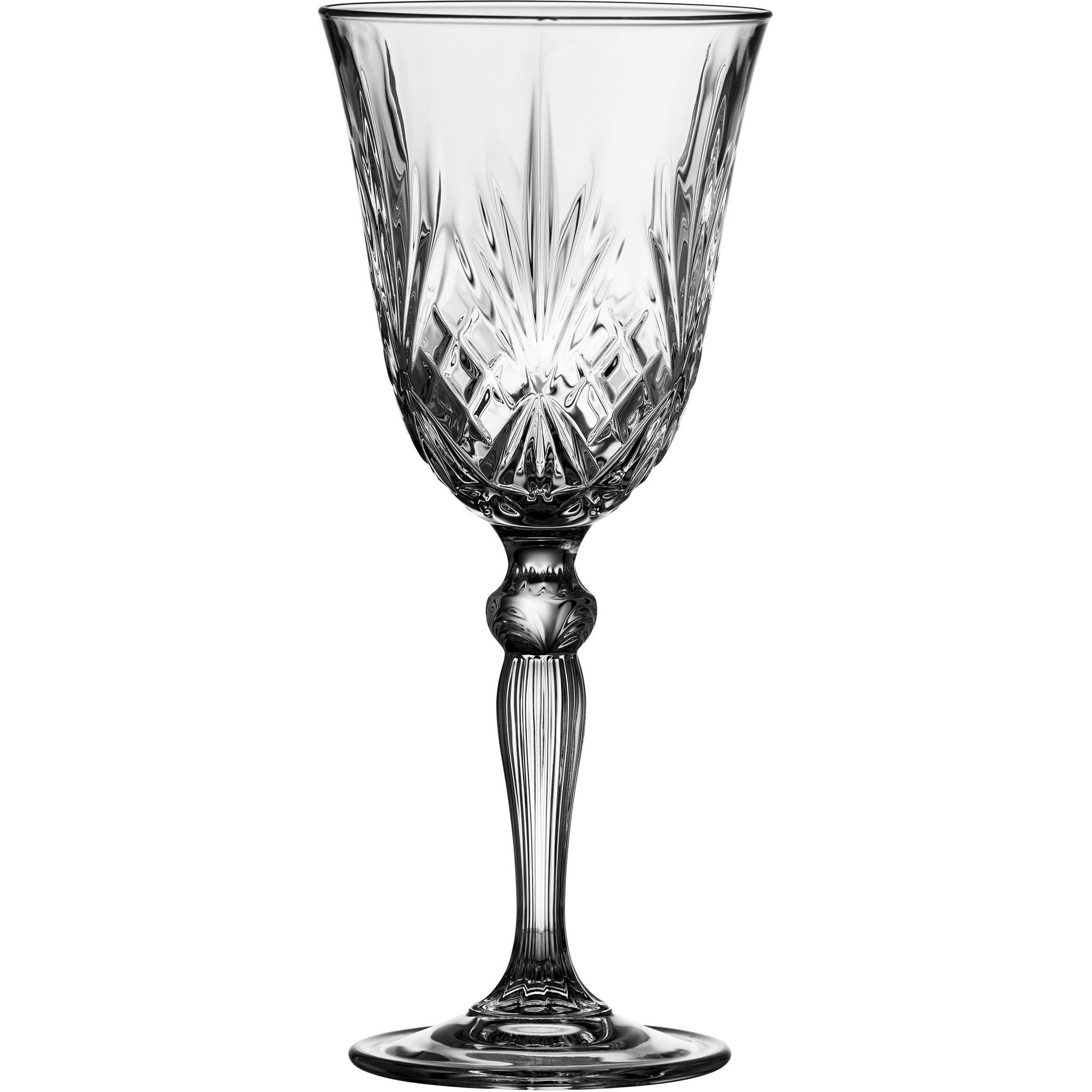 Lyngby Melodia vitvinsglas 4 stk.