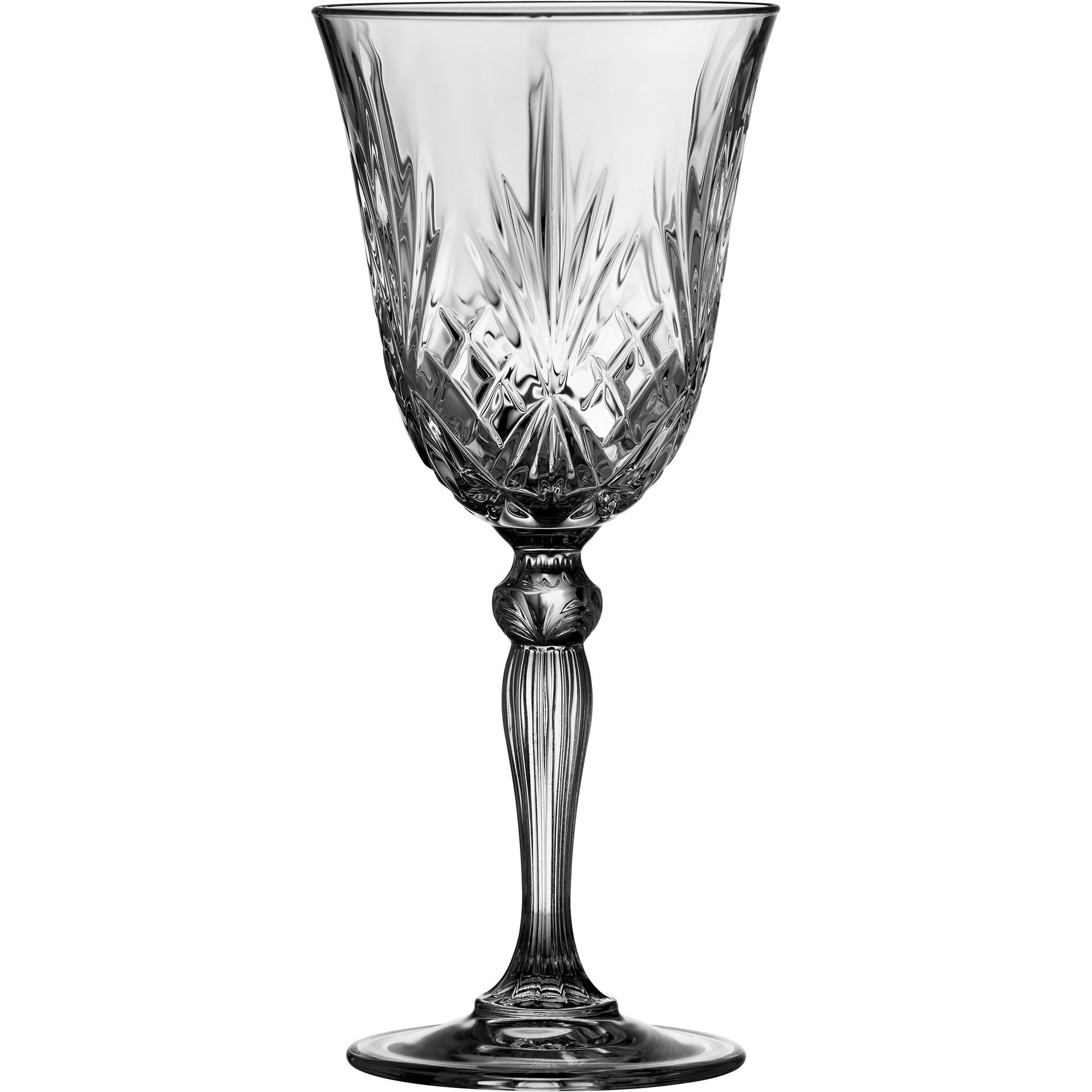 Lyngby Melodia Rödvinsglas 4 stk.