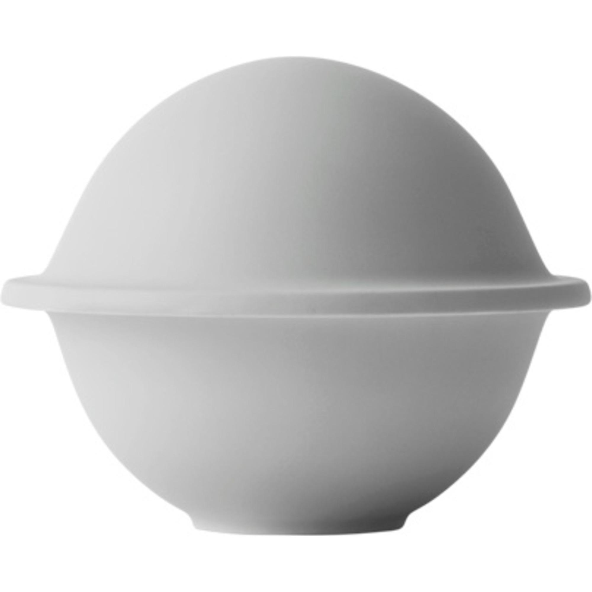 Lyngby Porcelæn Chapeau liten ljusgrå