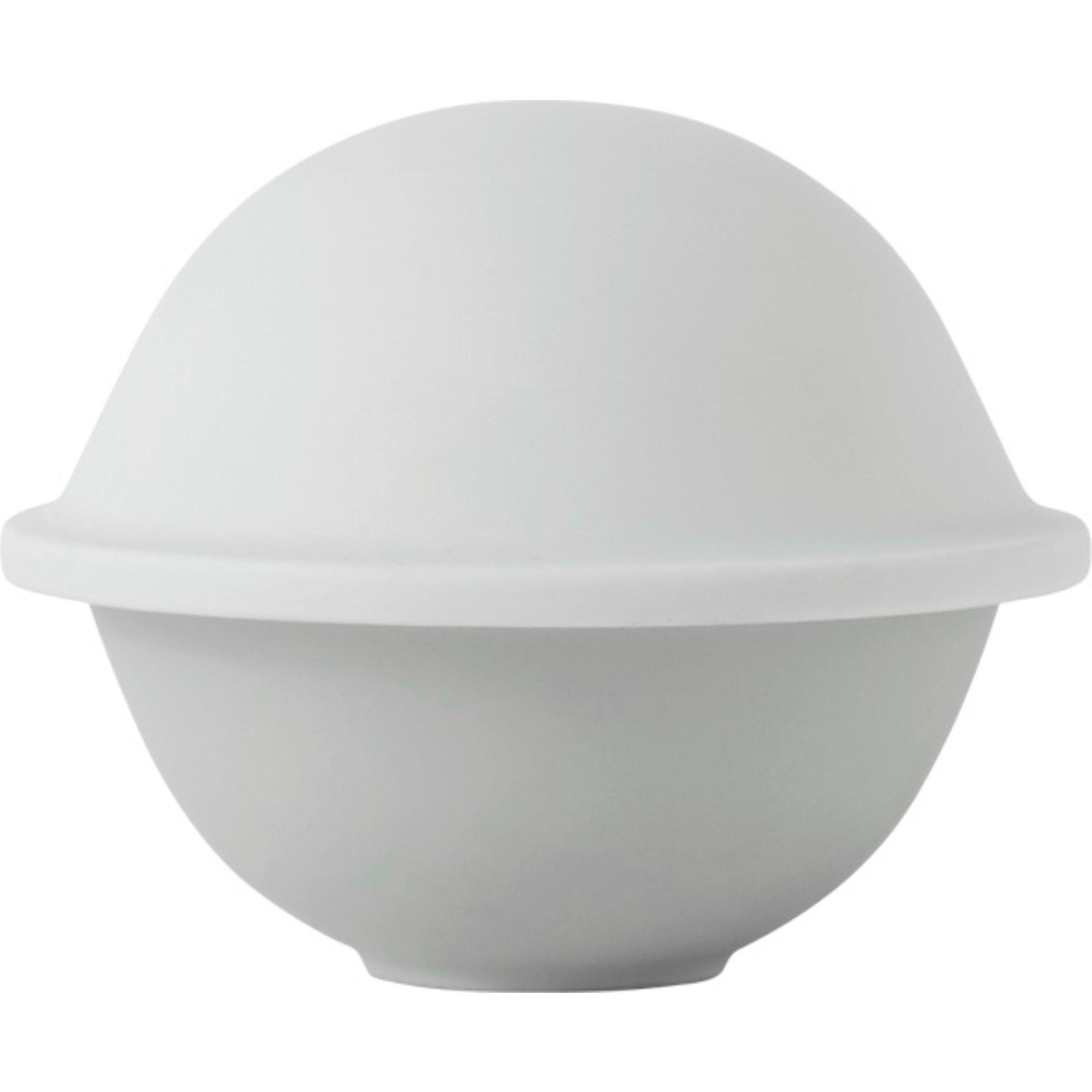 Lyngby Porcelæn Chapeau stor matt vit