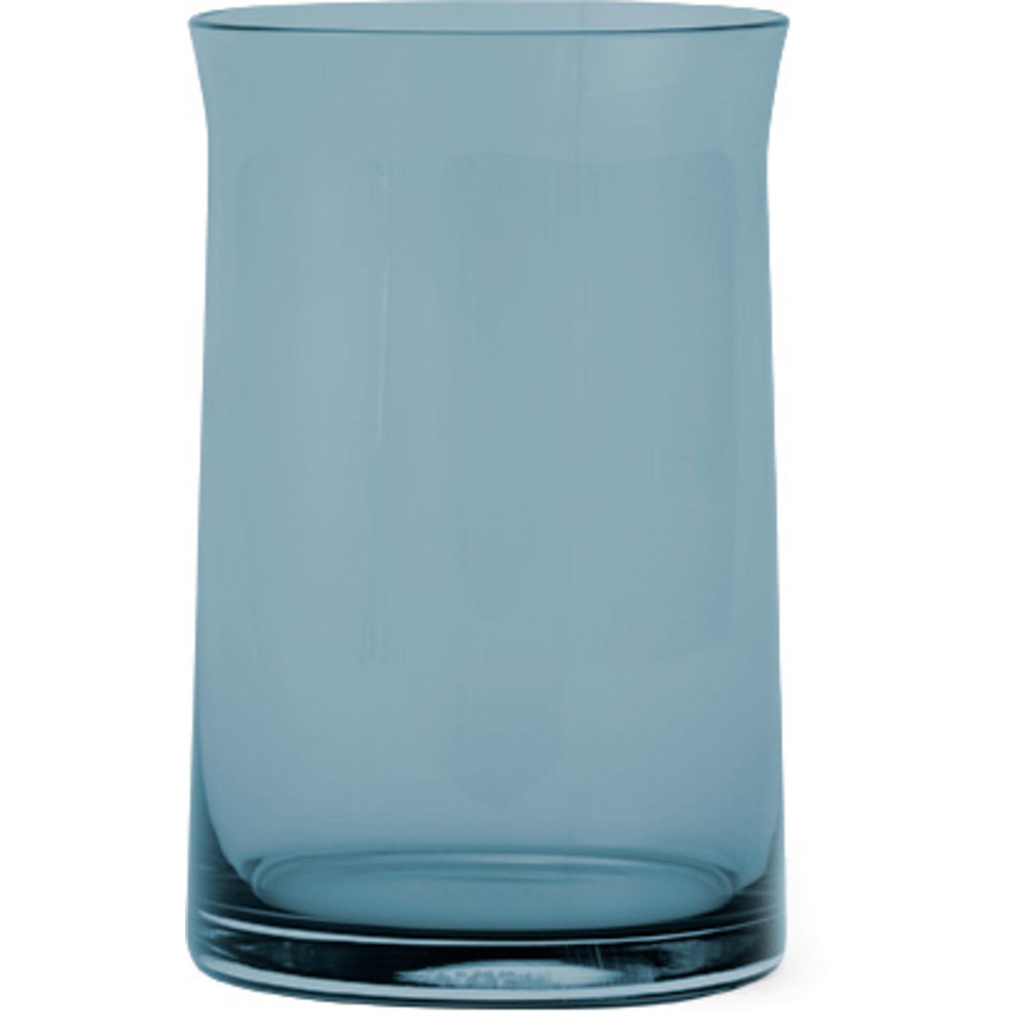 Lyngby Porcelæn JC. glas stort – blå