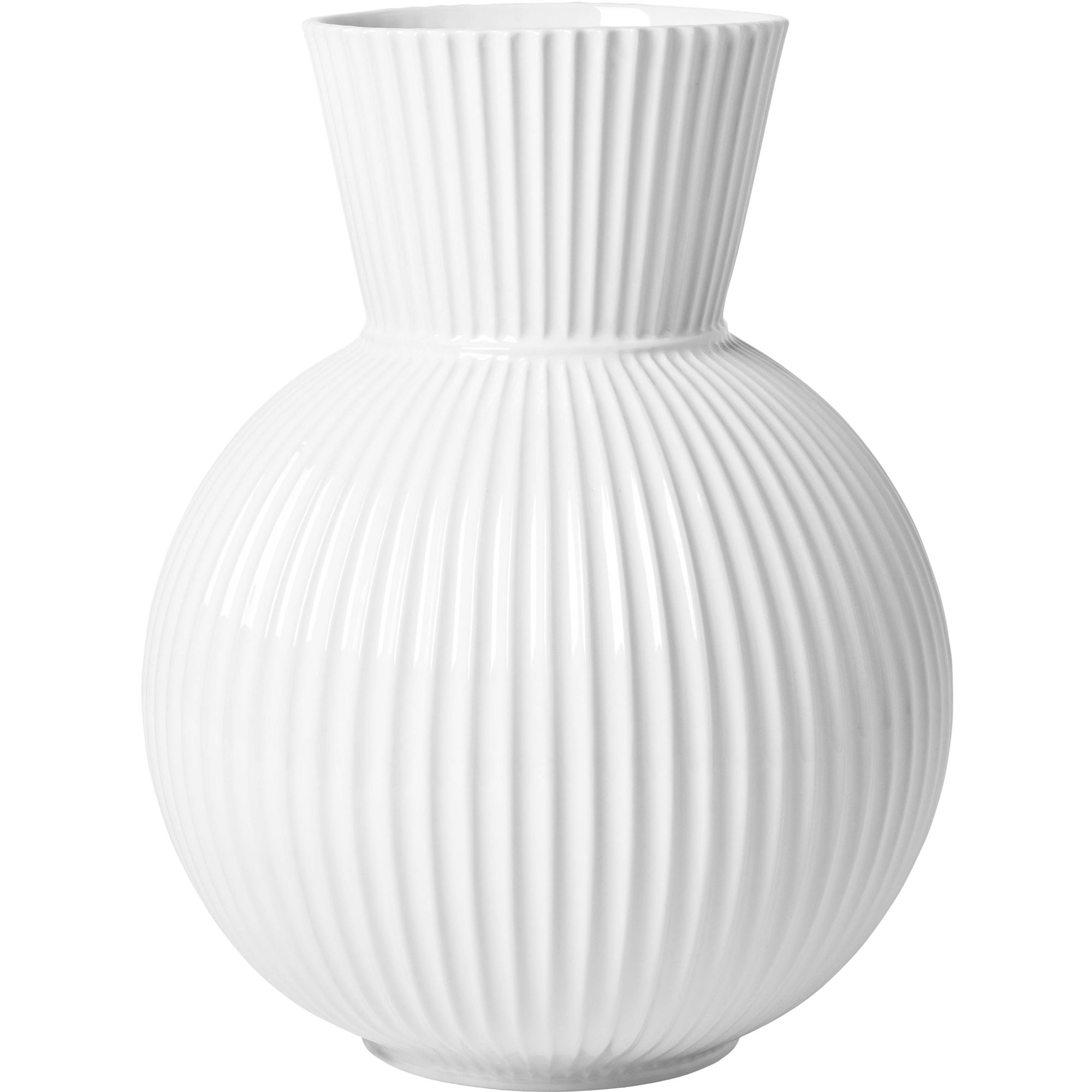 Lyngby Porcelæn Tura Vas 26 cm.