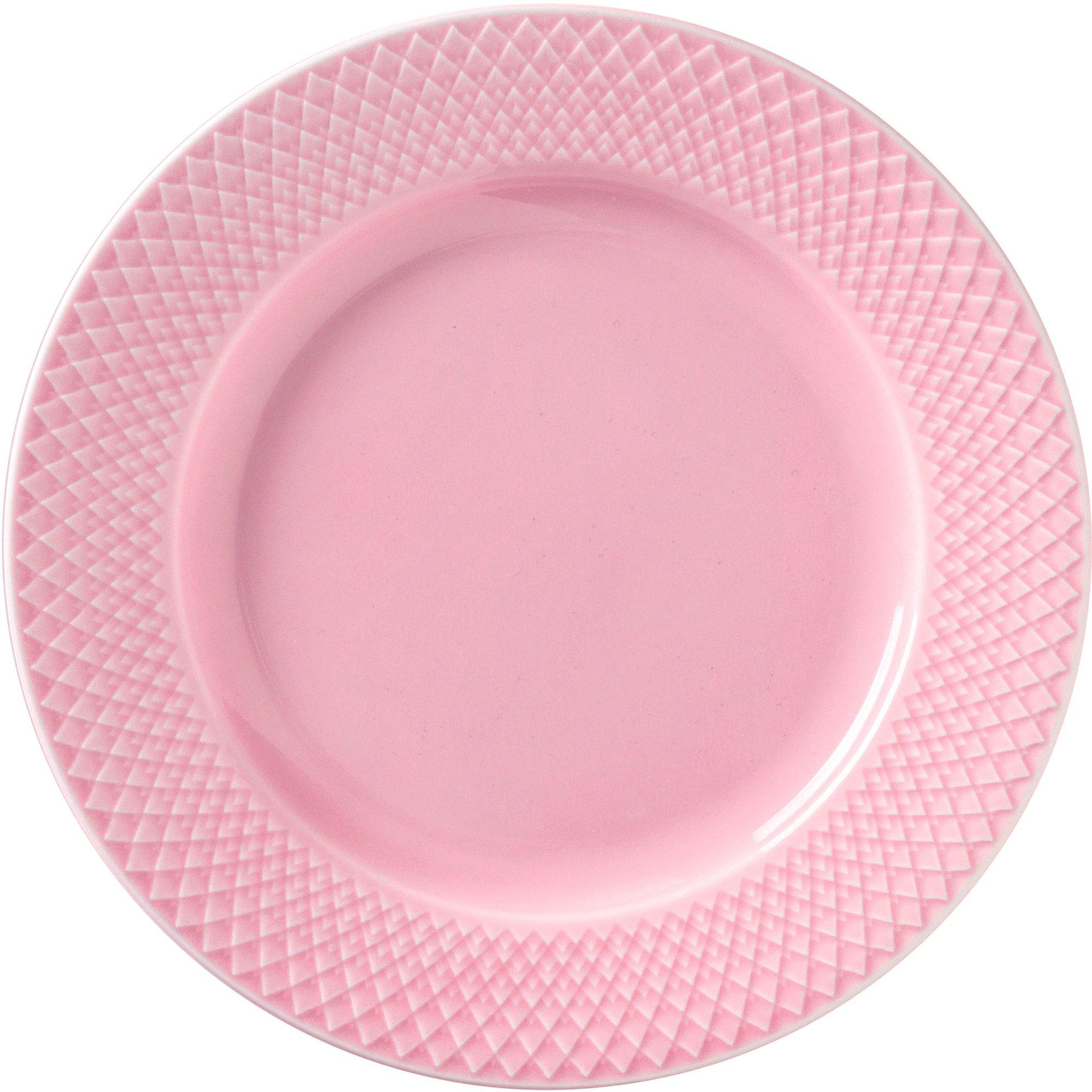 Lyngby Porcelæn Rhombe lunchtallrik